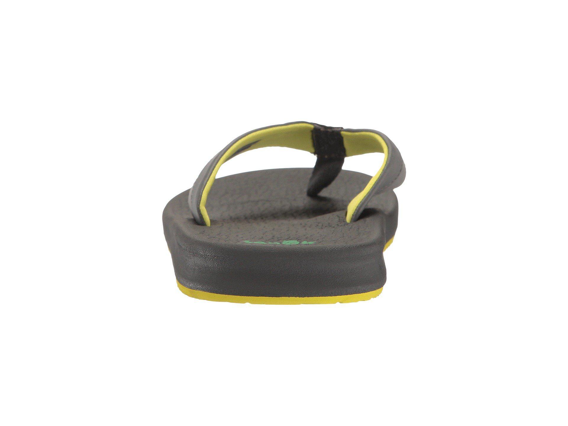 Sanuk Brumeister Thong Sandal In Gray For Men Lyst