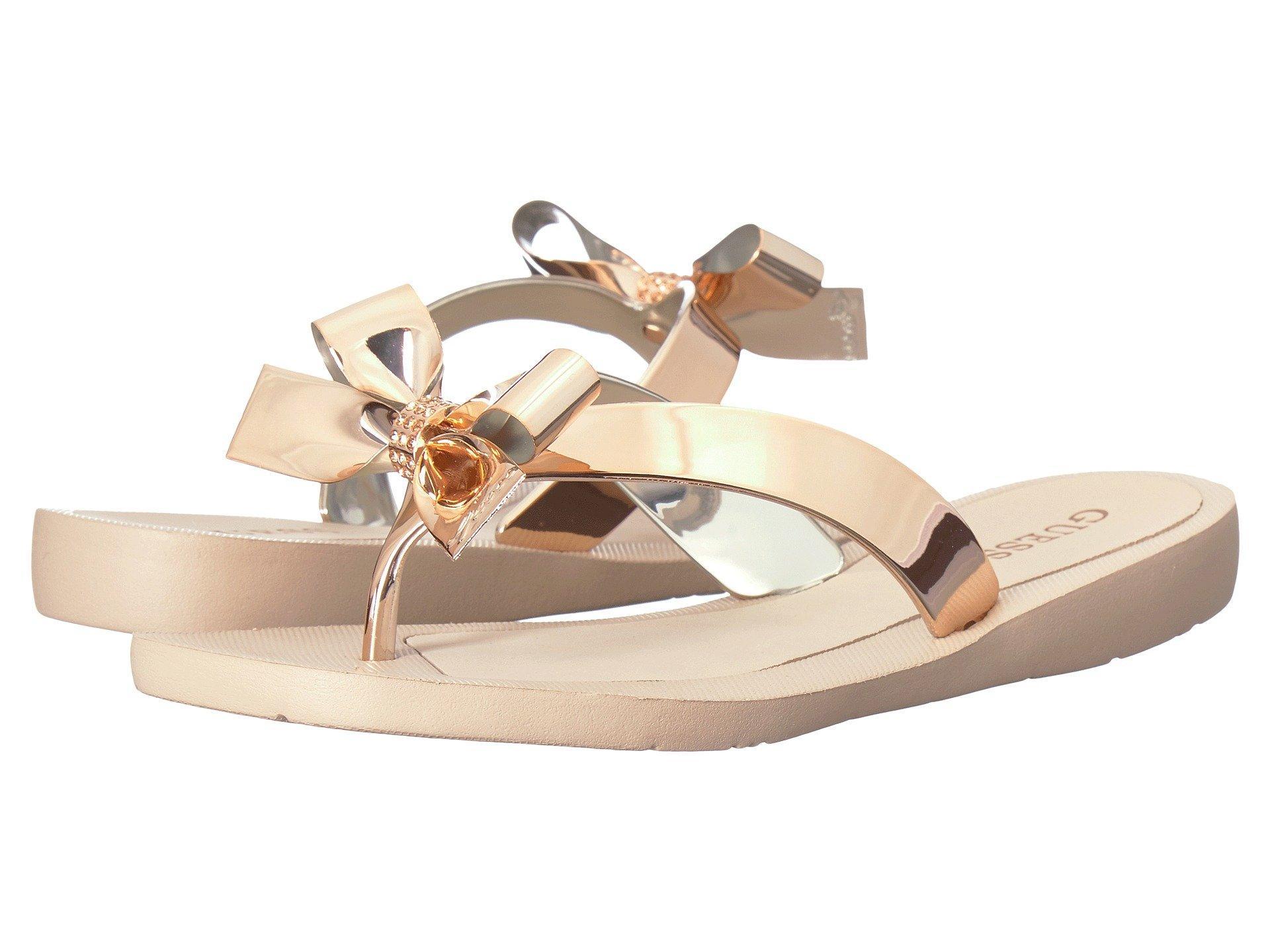 d3b2d353164d Lyst - Guess Tutu (gold gold) Women s Sandals