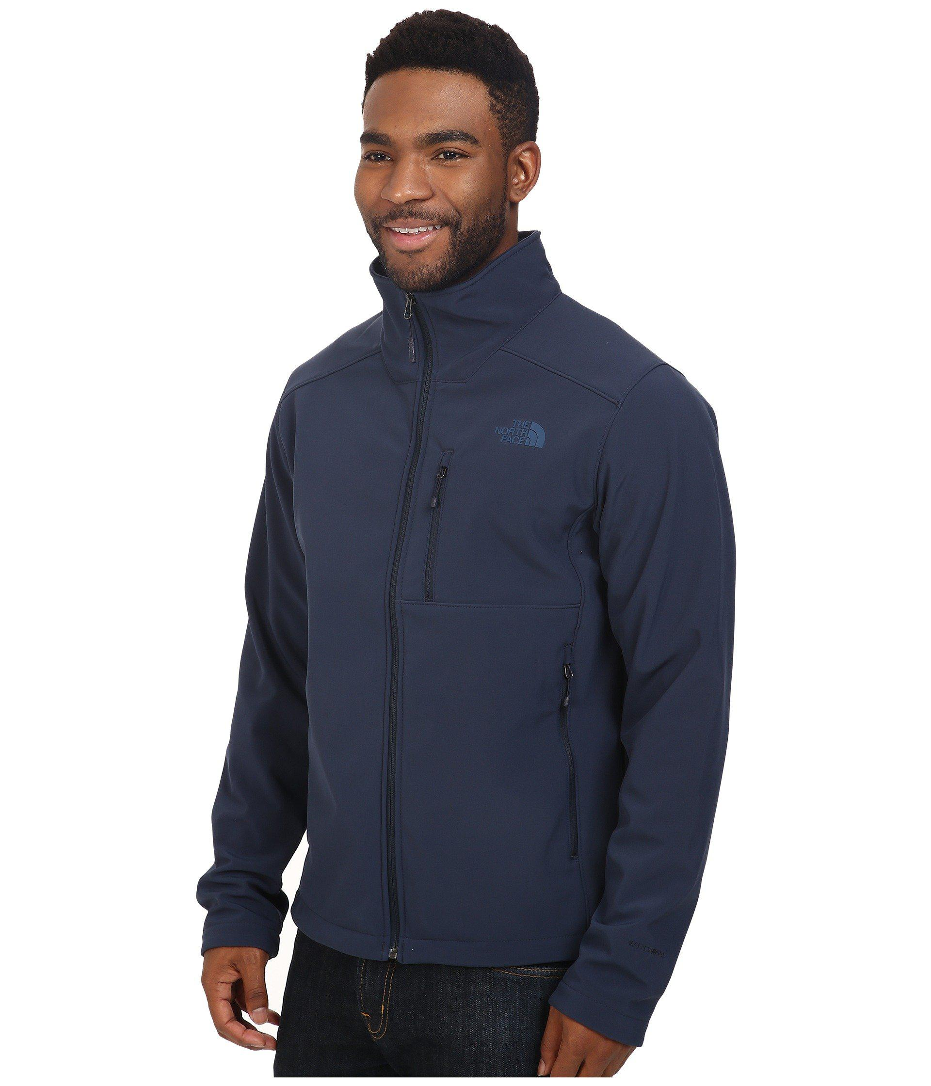 db030fe9551c ... switzerland lyst the north face apex bionic 2 jacket turkish sea urban  navy mens coat in