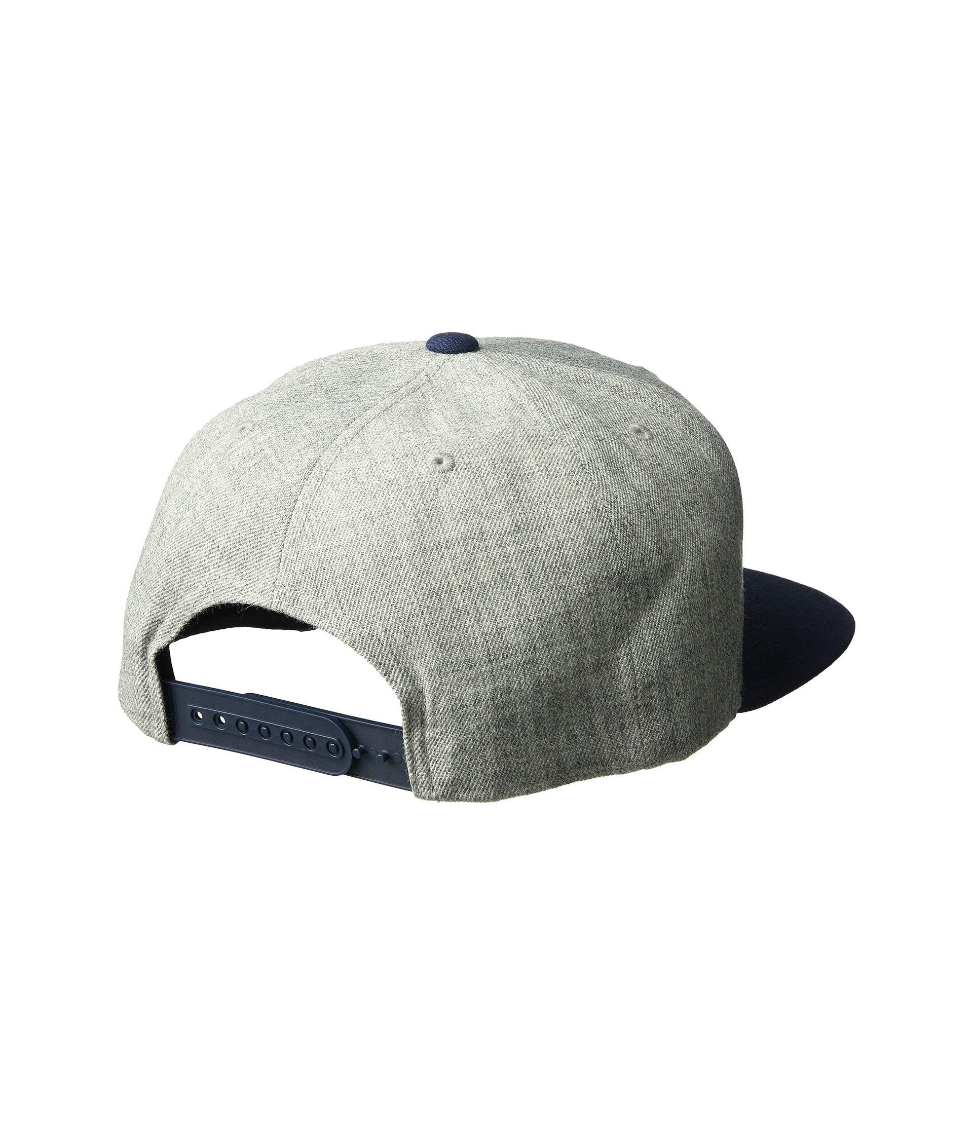 9d52f568573 Lyst - Brixton Palmer Ii Mp Snapback (heather Grey navy) Caps in Gray for  Men