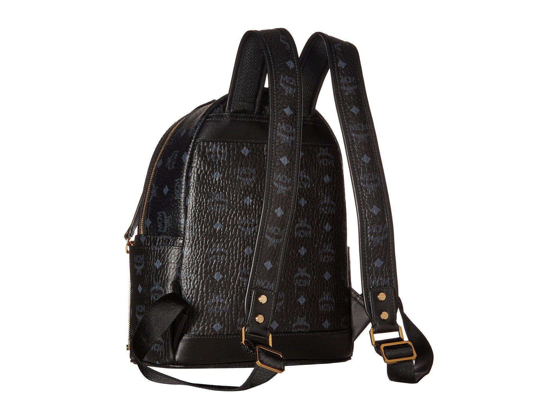 0bd2dc52c2d5 MCM - Dual Stark Small Backpack (black) Backpack Bags for Men - Lyst. View  fullscreen