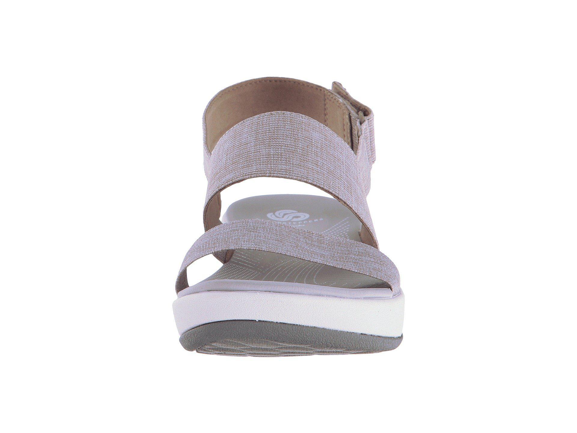 Clarks Synthetic Arla Jacory Black Solid Women S Sandals