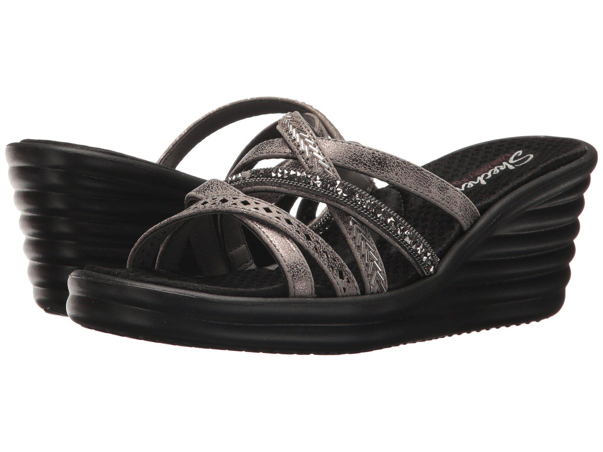 13b9c86c9d36 Lyst - Skechers Rumbler Wave - New Lassie (pewter) Women s Shoes in ...