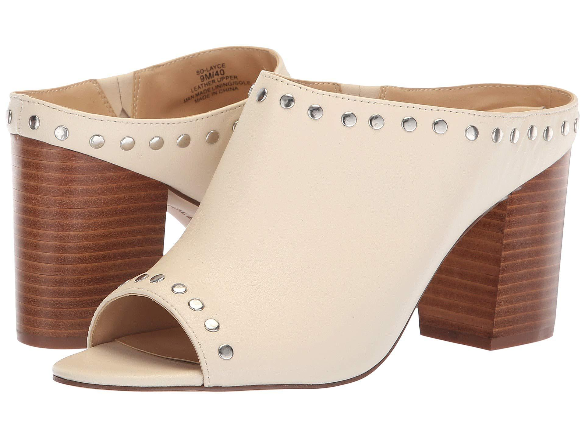 e2eb6a219f814f Lyst - Sole Society Layce (fall Taupe) Women s Sandals in Natural