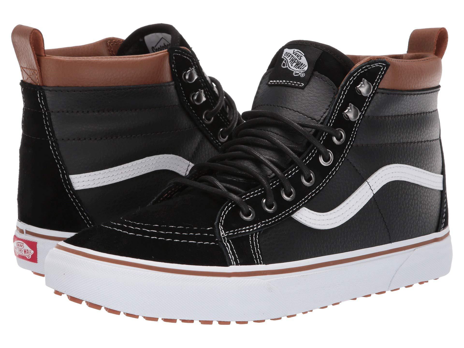 24f587a15704 Lyst - Vans Sk8-hi Mte ((mte) Black gum) Skate Shoes in Black for Men