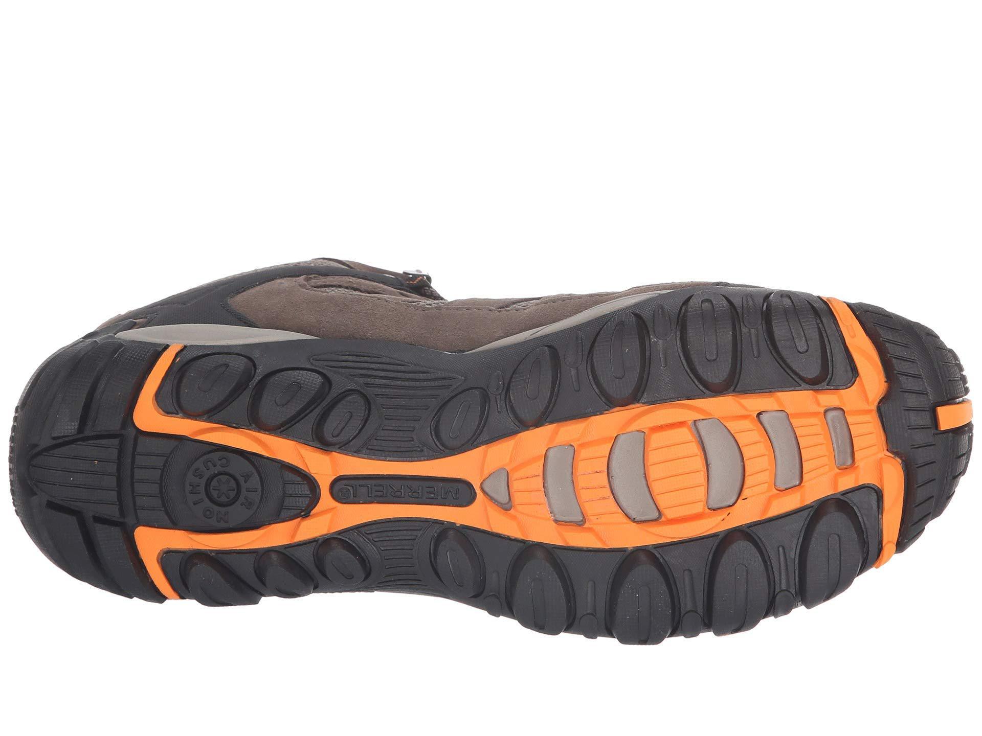 on wholesale offer discounts size 40 Merrell Suede Accentor Mid Vent Waterproof (boulder/orange) Men's ...