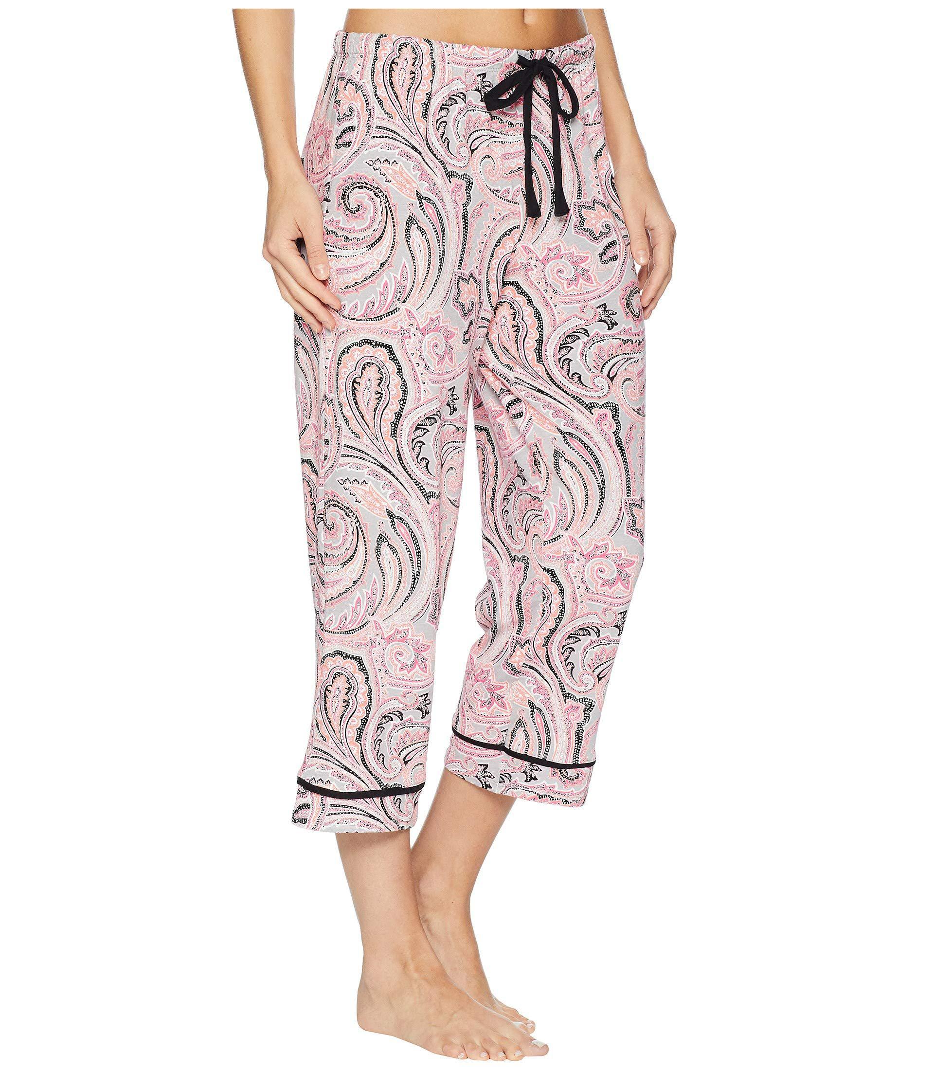 335c1097da Jockey - Pink Printed Cropped Pants (no Drama Llama) Women s Pajama - Lyst.  View fullscreen