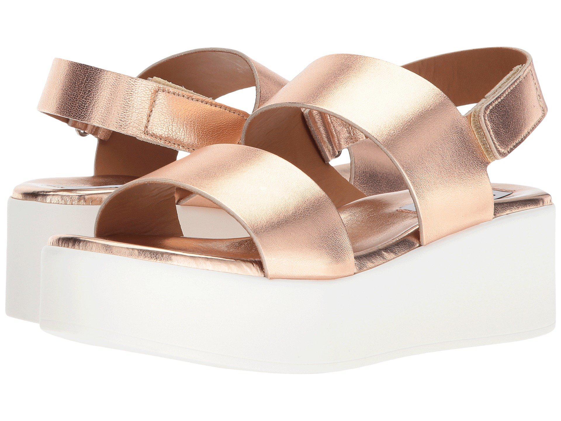 Rachel Platform Sandal (rose Gold
