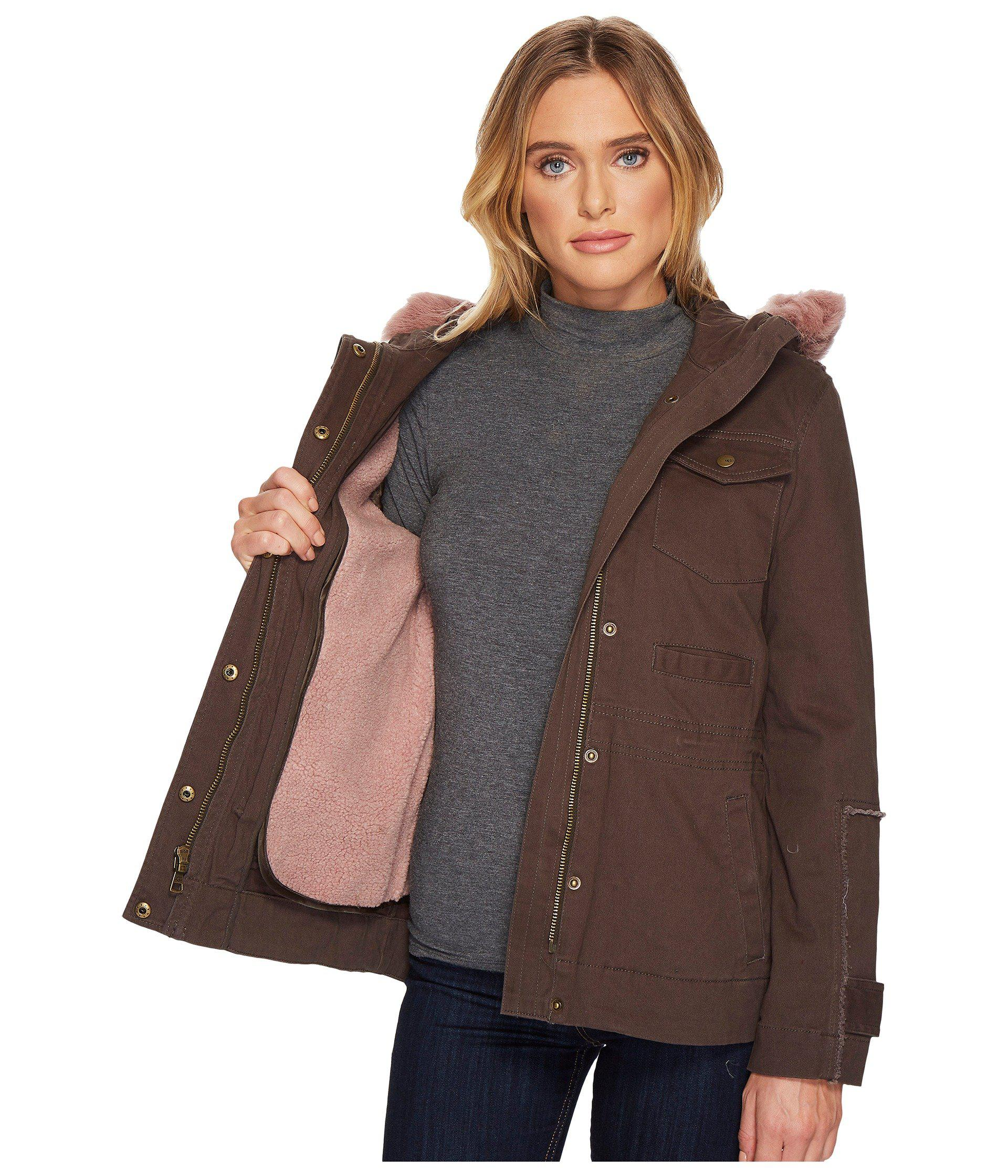 e131ccc6fe6 UGG Convertible Field Parka in Green - Lyst