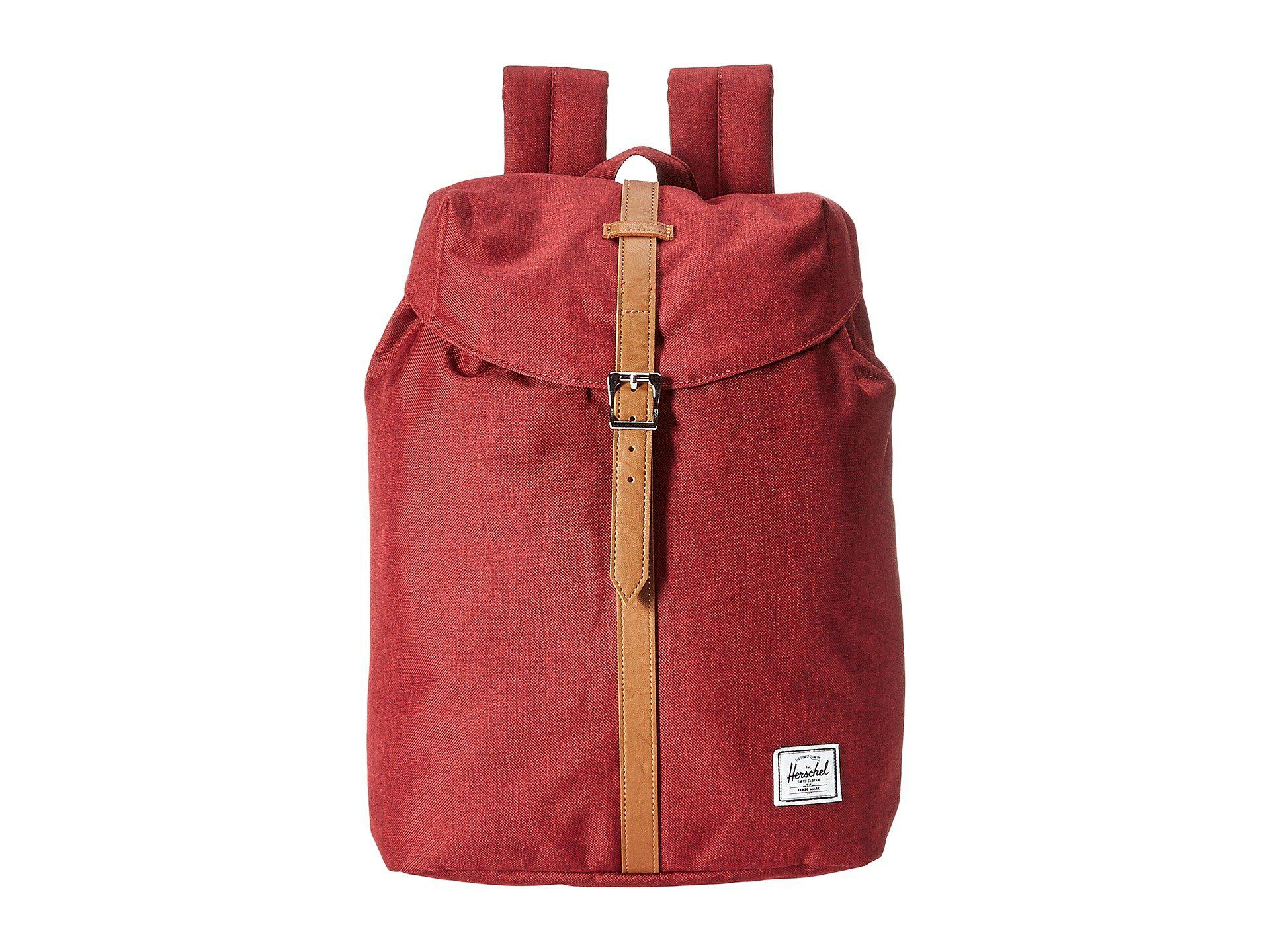 Lyst - Herschel Supply Co. Post (winetasting Crosshatch tan ... 128d463bfe11a
