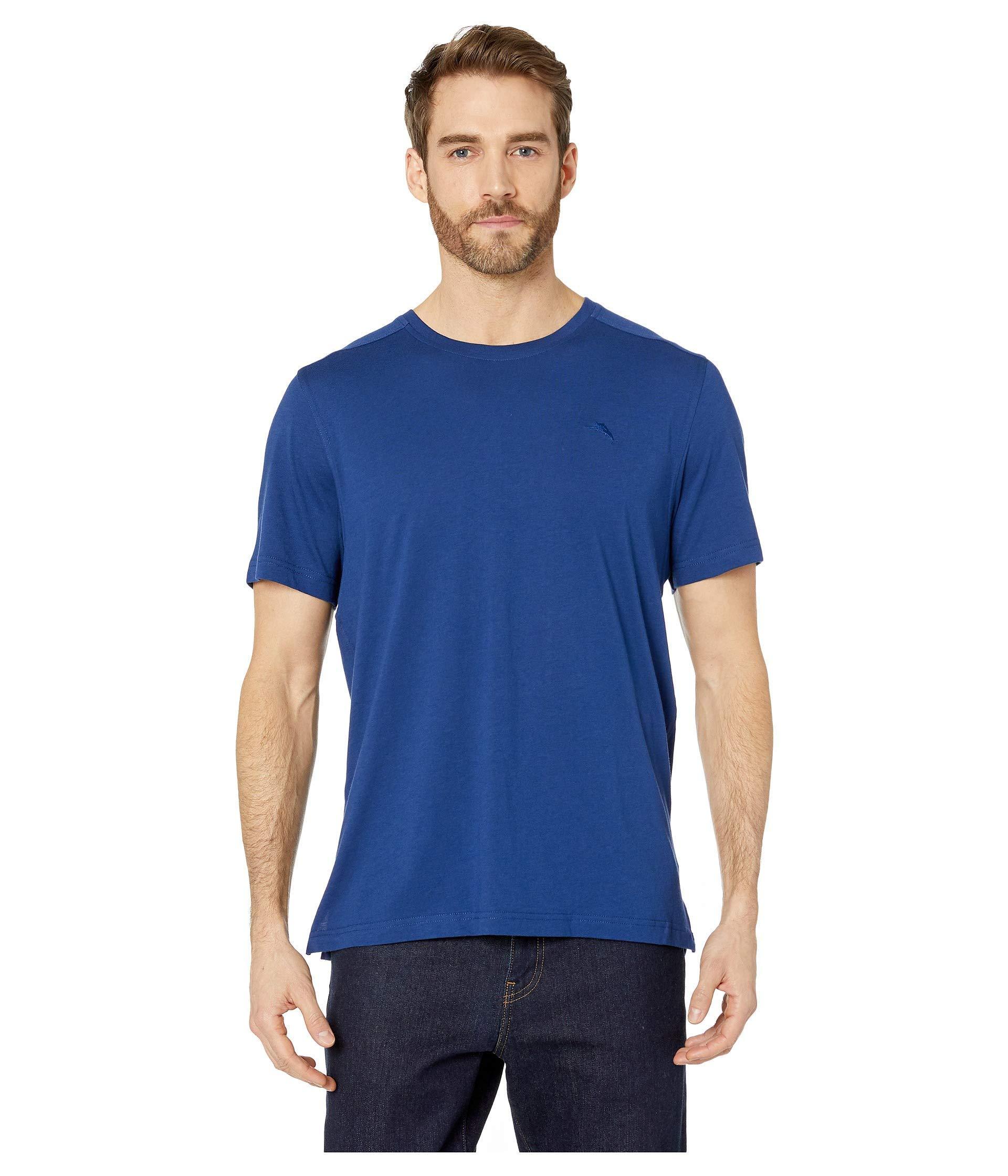 47452591 Lyst - Tommy Bahama Cotton Modal Knit Jersey T-shirt (heather Grey ...