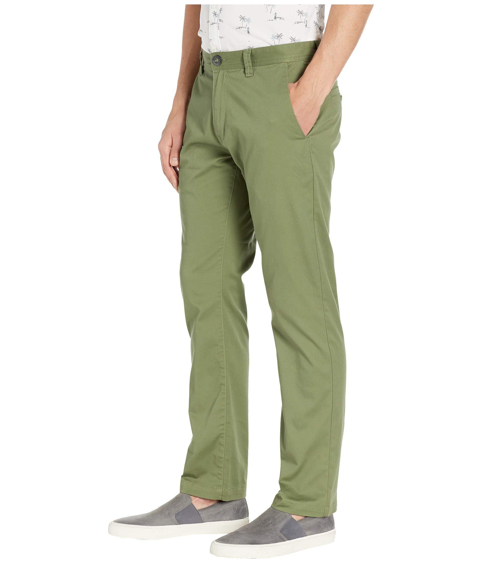829eef505ee5f5 Lyst - Volcom Frickin Modern Stretch (black) Men's Casual Pants in Green  for Men