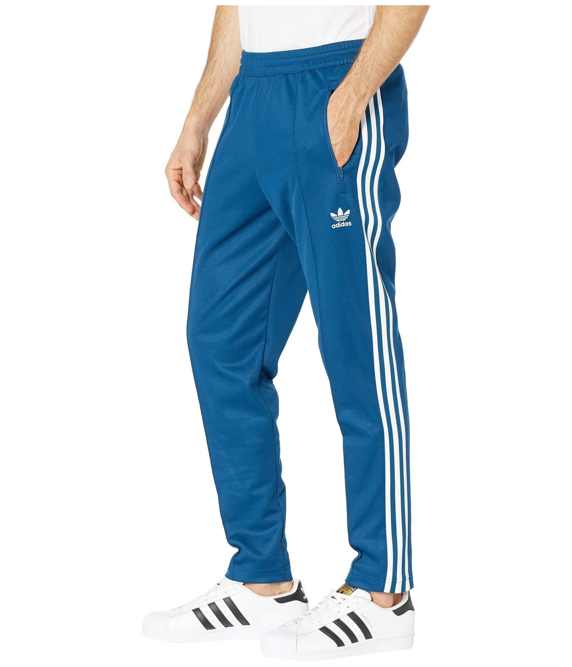 ADIDAS ORIGINALS BECKENBAUER Track Pants in Marine Blue