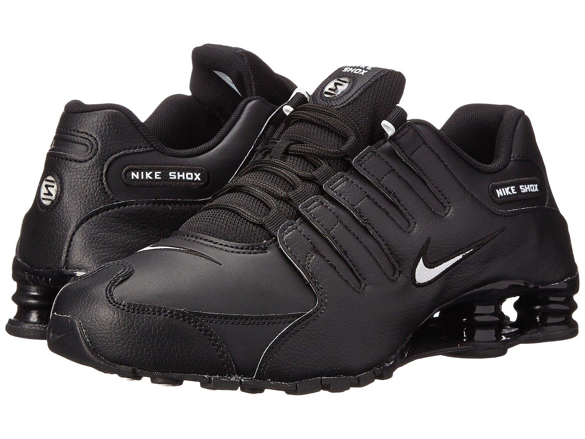 2ef9beb87dbb Lyst - Nike Shox Nz Eu (black white triple Black) Men s Running ...