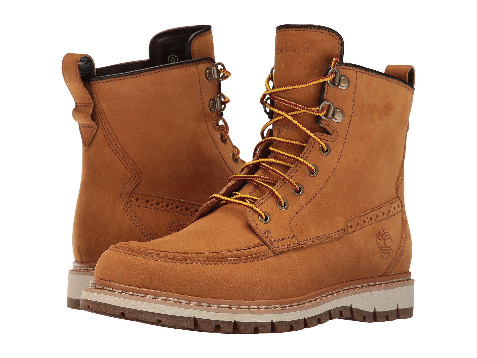 Timberland Multicolor Britton Hill Waterproof Moc Toe Boot for men