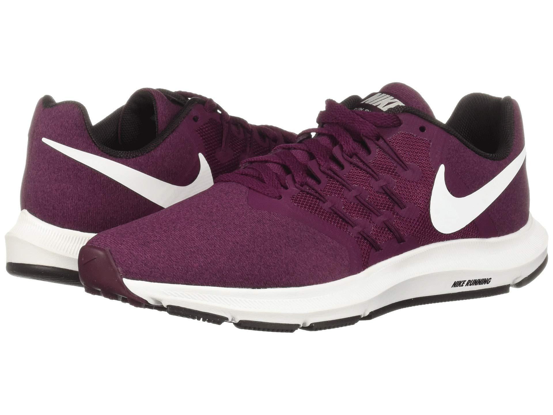 adb7f54a2a0 Nike Purple Run Swift (bordeaux/summit White/burgundy Ash) Women's Running  Shoes