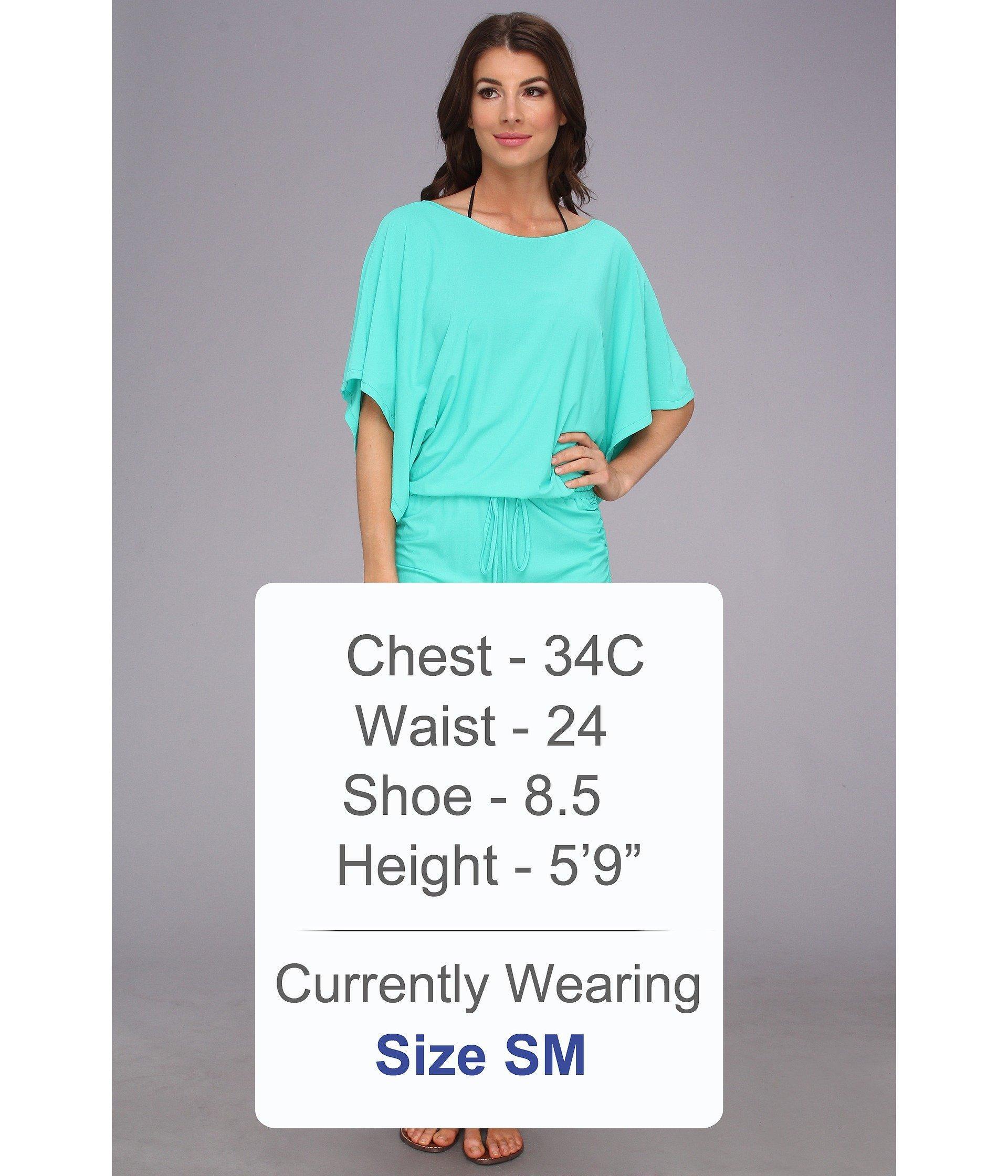 3ba2ba0ab95 Luli Fama - Blue Cosita Buena South Beach Dress Cover-up (gold) Women s.  View fullscreen