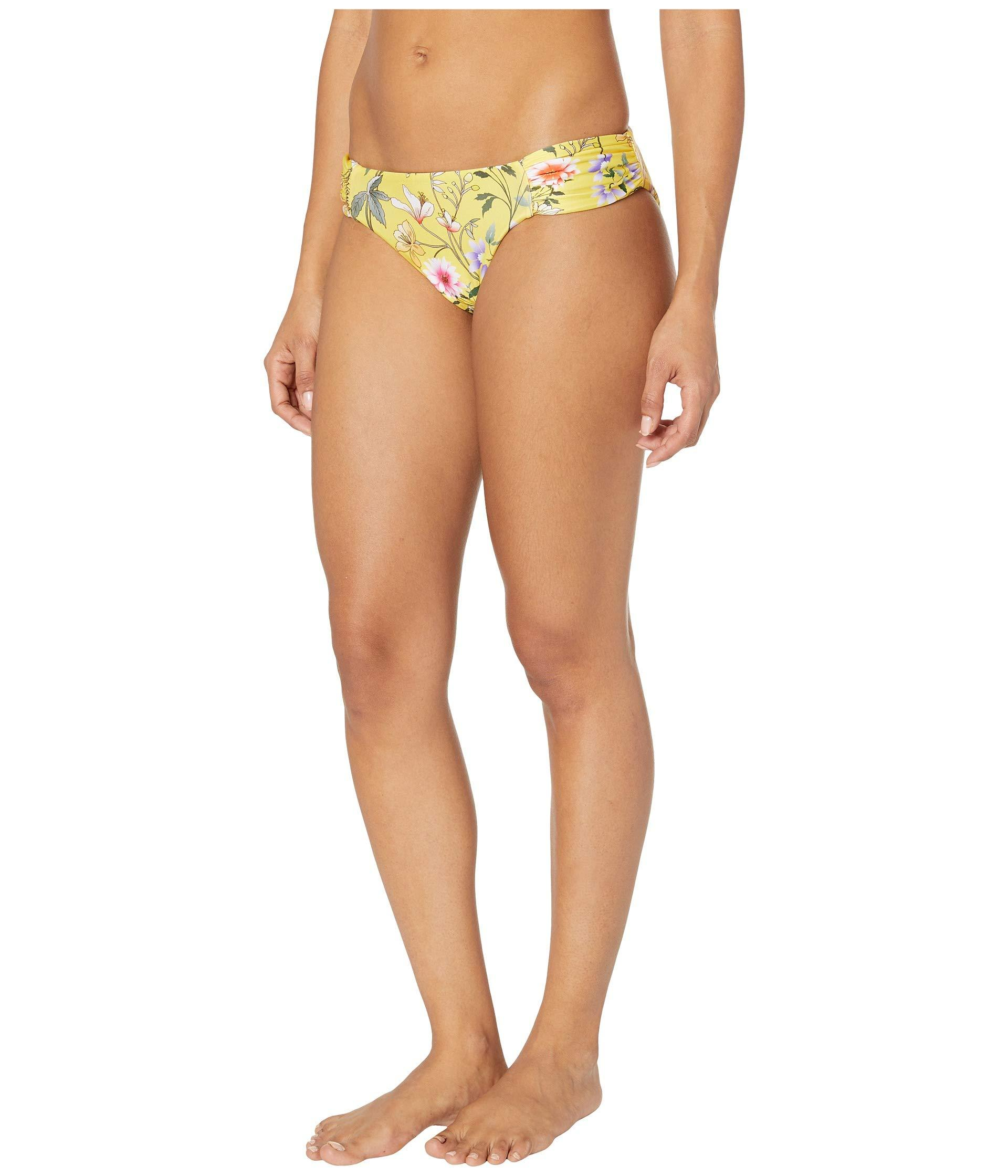74898150b1917 Lyst - Lucky Brand Cruisin Coronado Reversible Side Shirred Pant Bottoms  (multi) Women's Swimwear