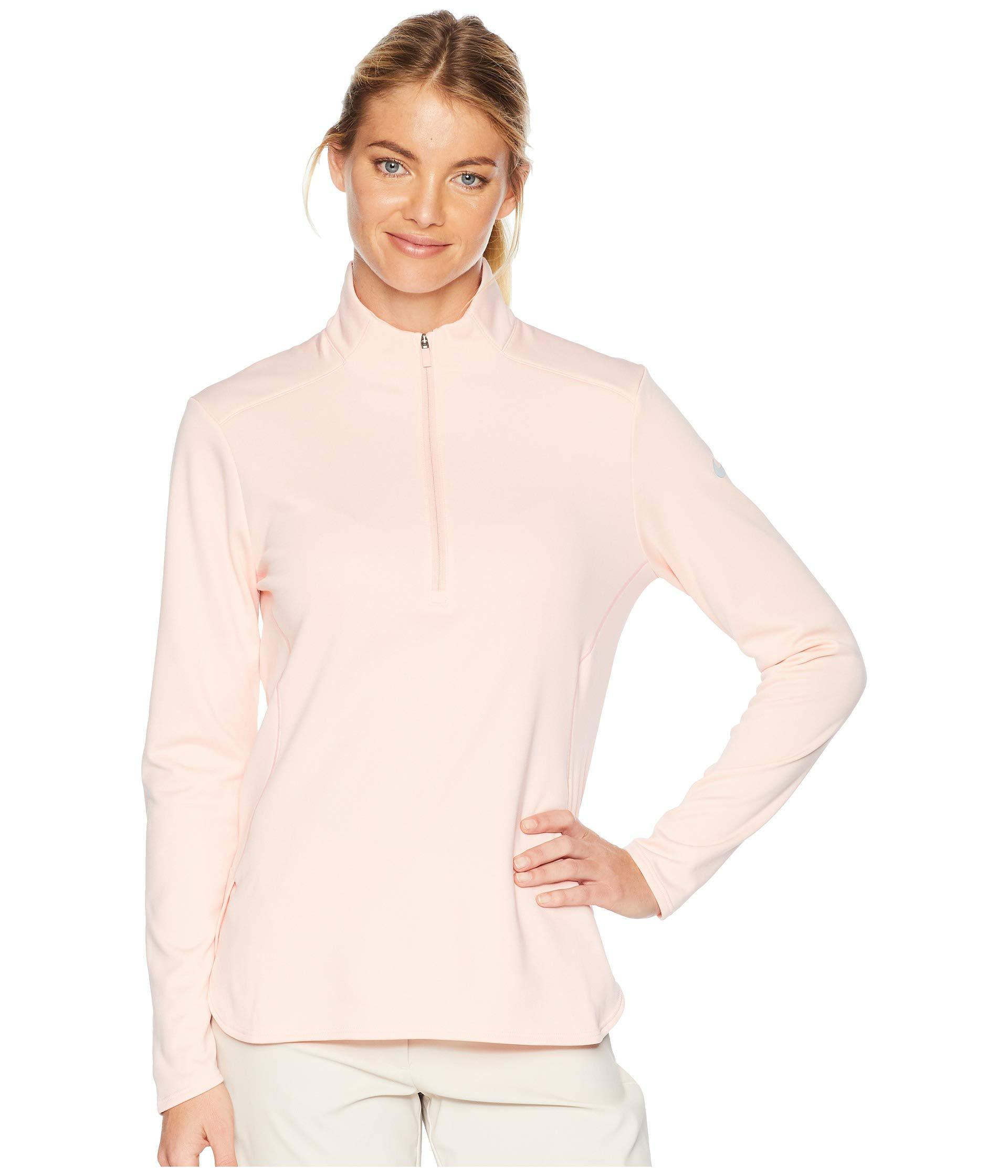 a5e27087b6af9 Lyst - Nike Dry Long Sleeve Top (black/black) Women's Clothing in Pink
