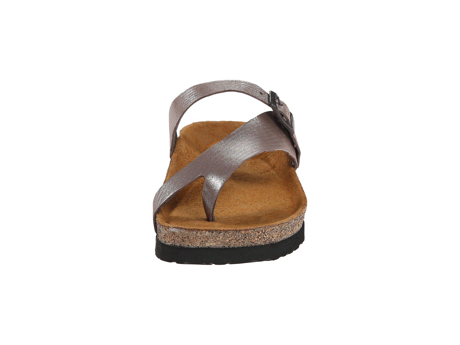 ad0d416d9d01 Naot - Metallic Tahoe (buffalo Leather) Women s Sandals - Lyst. View  fullscreen