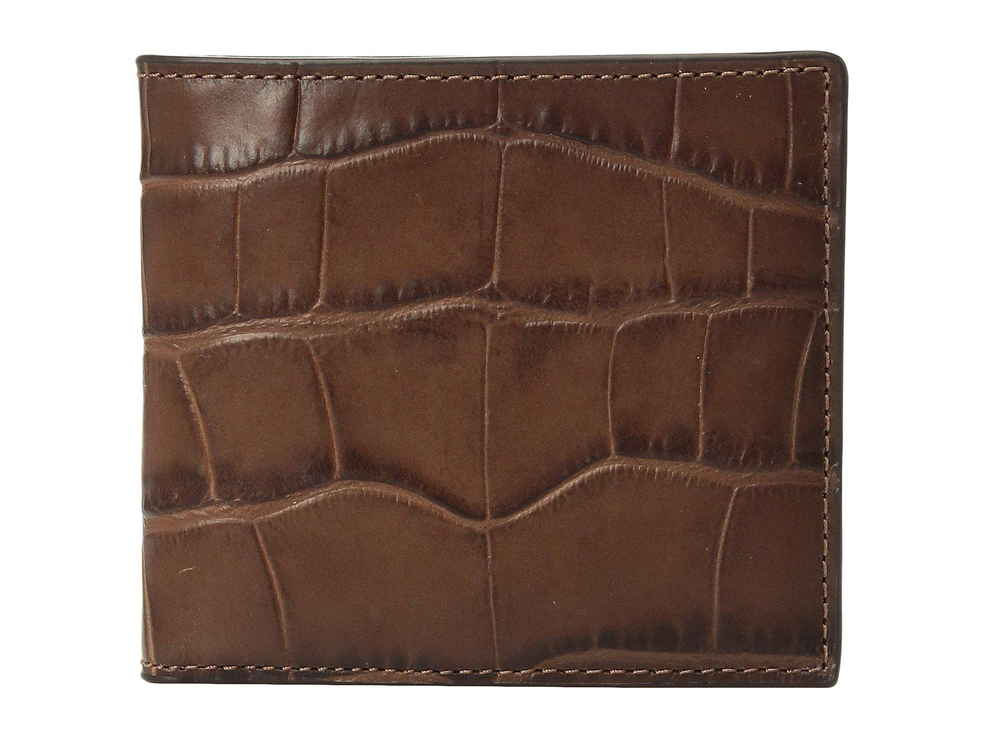 4919f7343d50 Lyst - COACH Double Billfold Wallet (saddle) Bags in Brown for Men