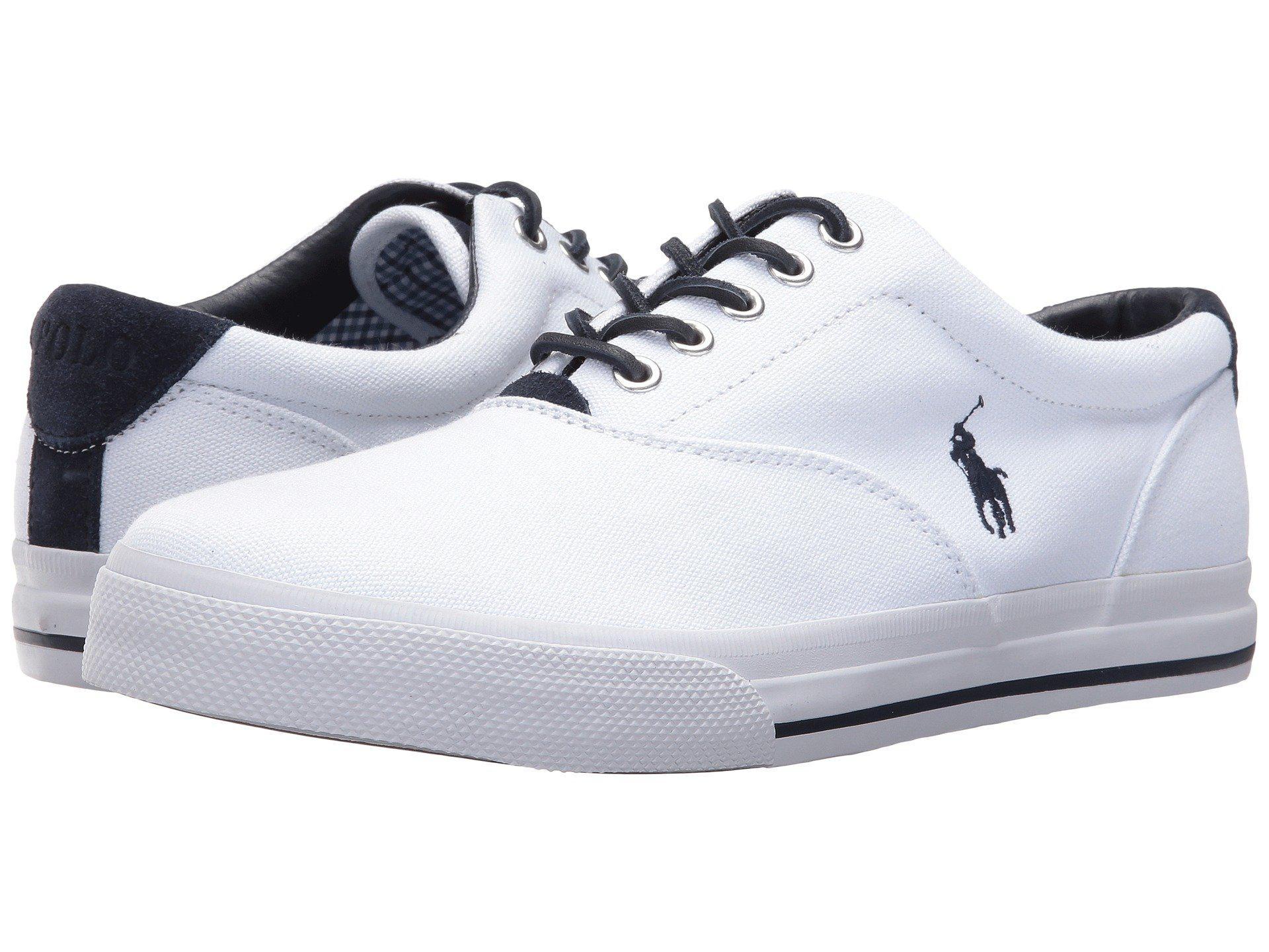 de87df62c5 Polo Ralph Lauren White Vaughn-sk Sneaker for men