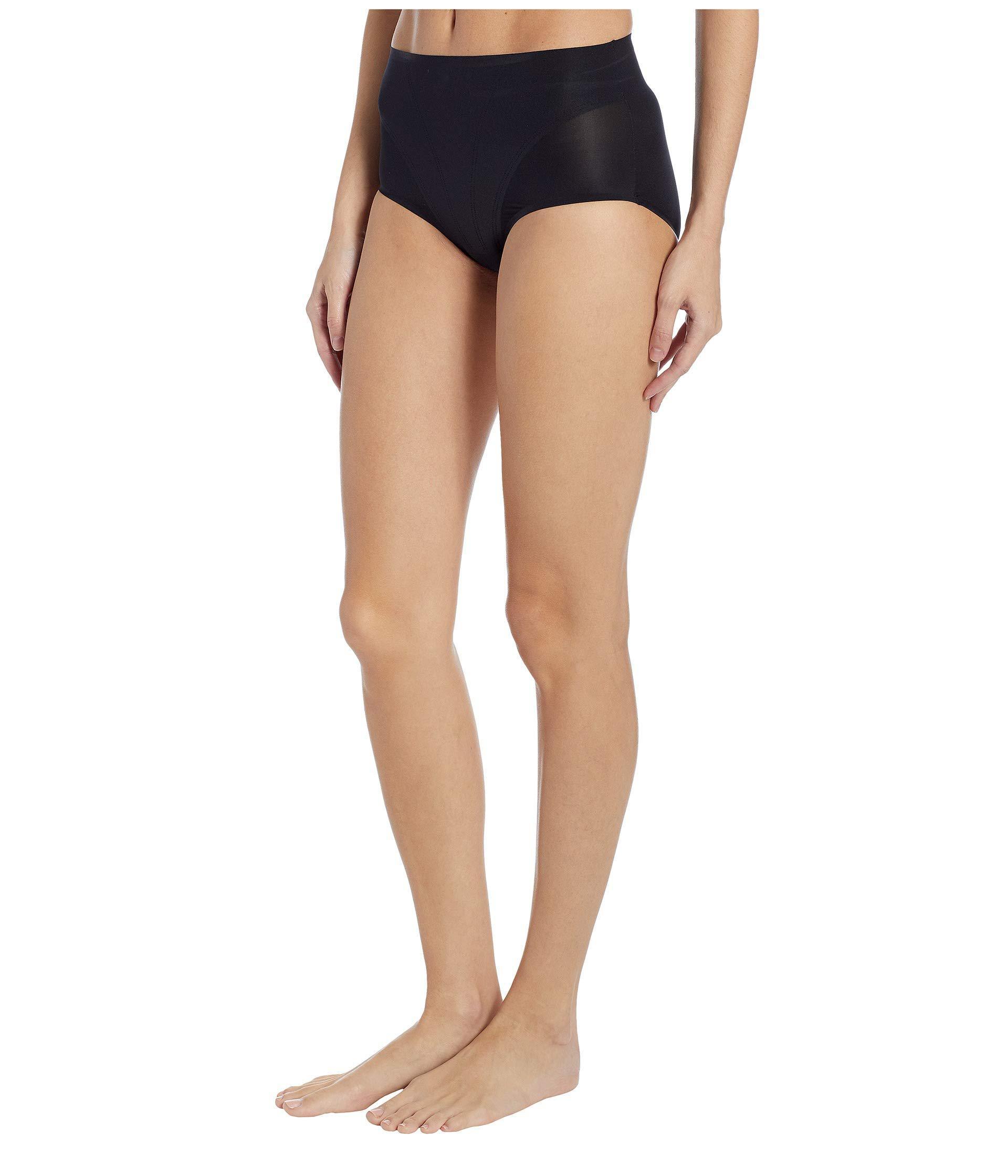 1a287199869 Lyst - Spanx Retro Brief (soft Nude) Women s Underwear in Black