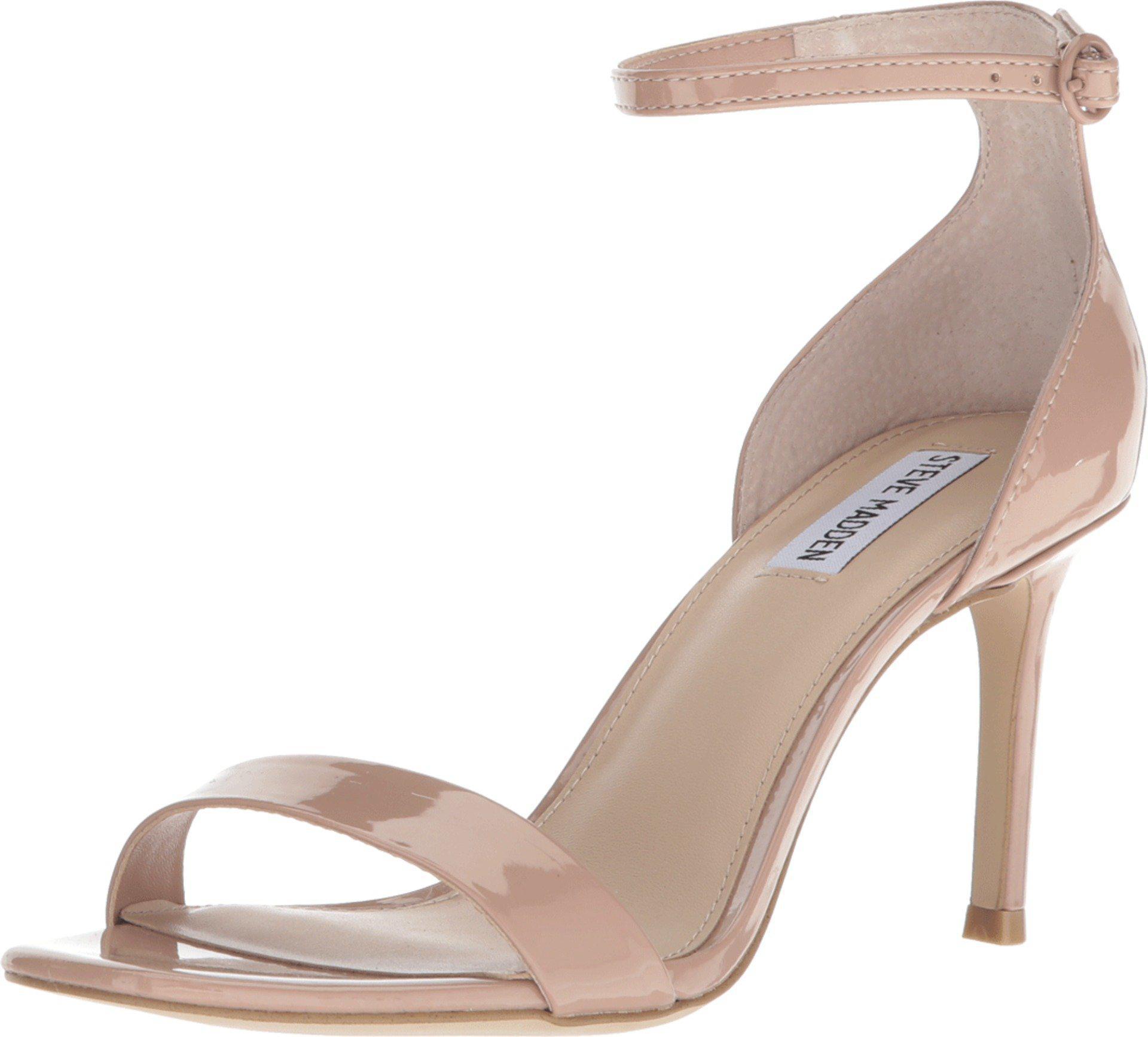 9516316007f Lyst - Steve Madden Fame Heeled Sandal in Natural