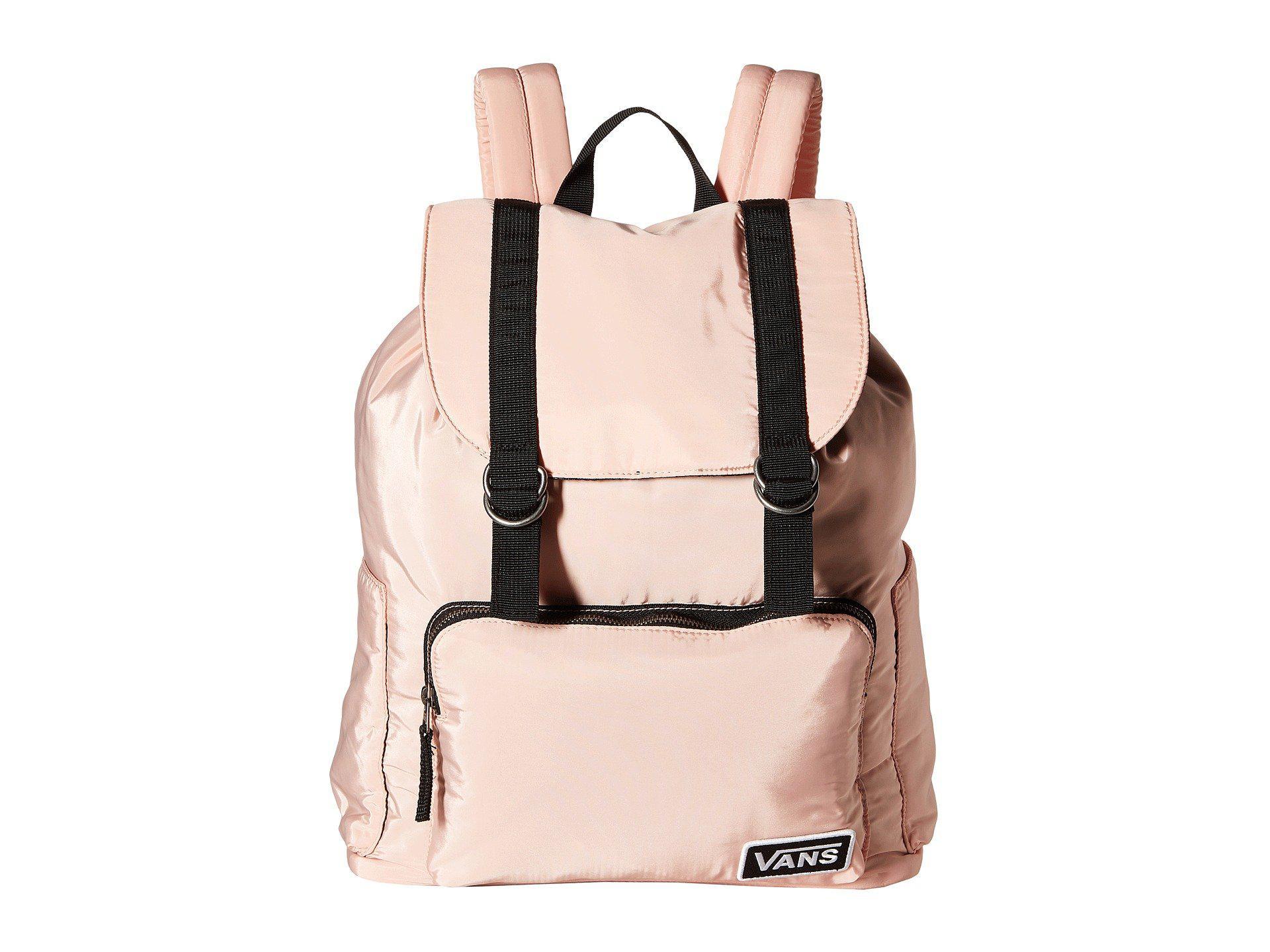2e479fe323c67 Vans Geomancer Backpack (matte Black) Backpack Bags in Black - Lyst