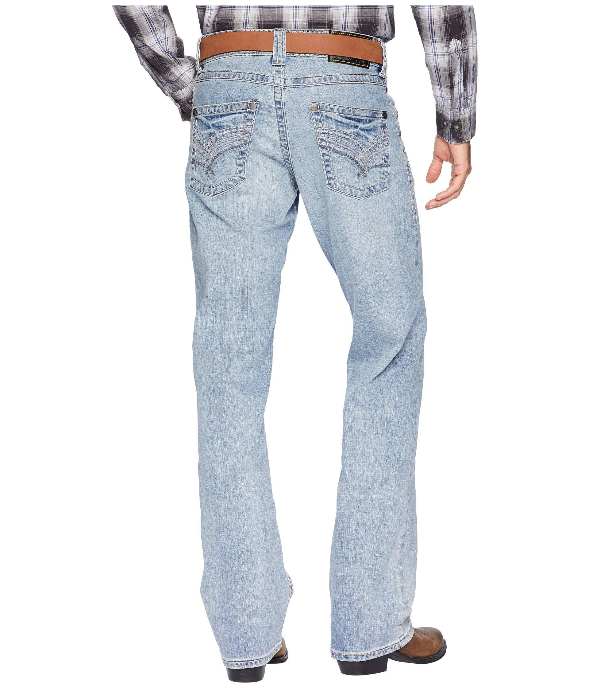 Wrangler Rock 47 >> Rock 47 Relaxed Boot Jeans Back Beat Men S Jeans