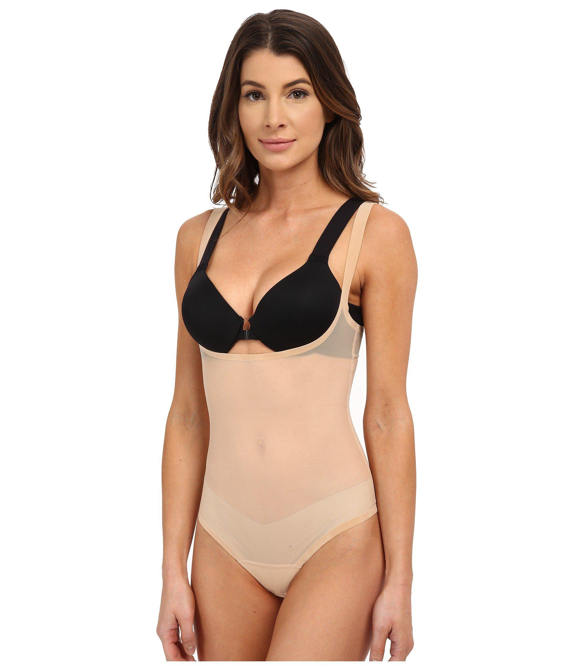 2c17927399 Wolford. Natural Tulle Forming String Bodysuit (black) Women s Underwear