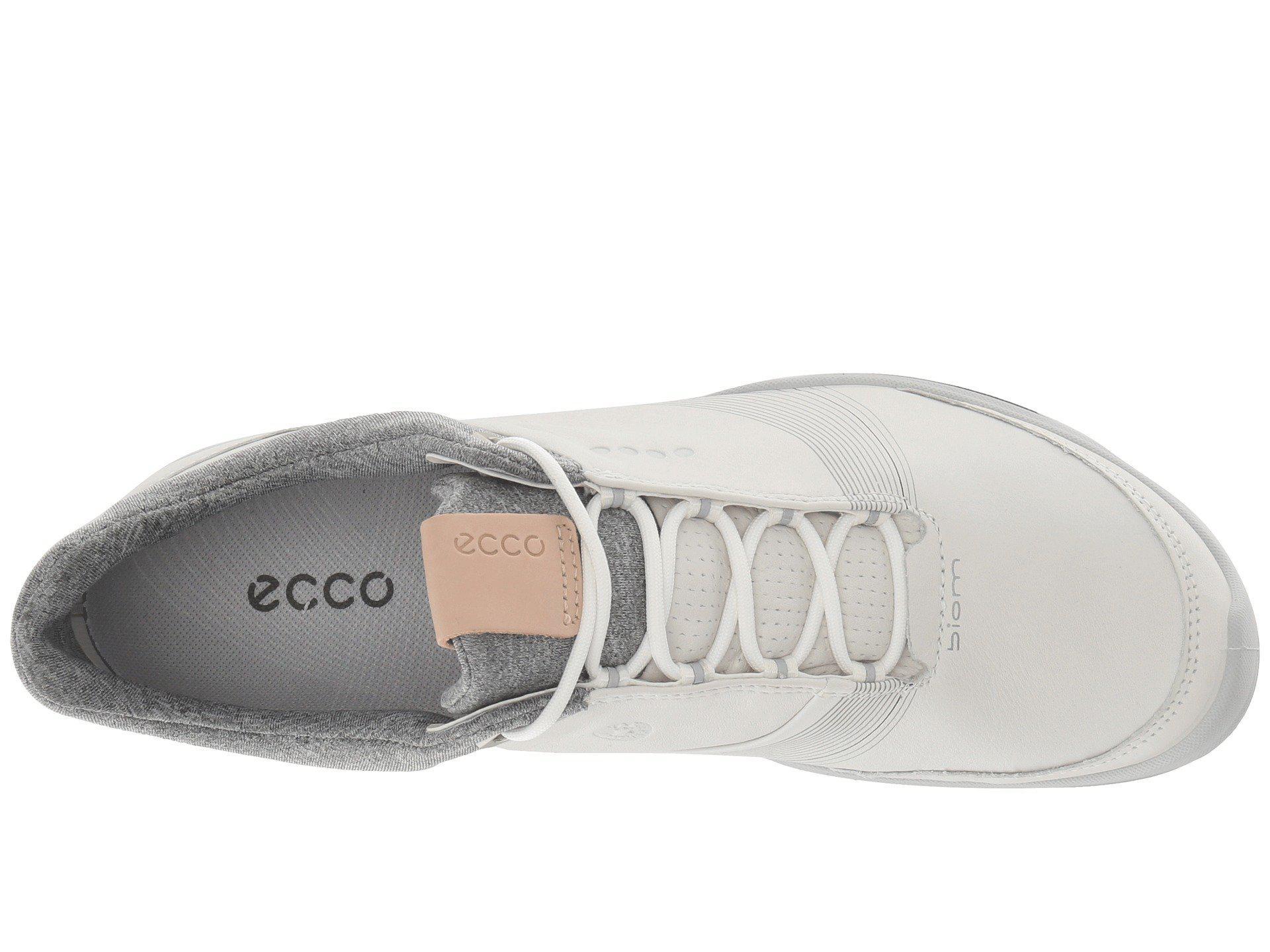 4d5085fd58b7 Lyst - Ecco Biom Hybrid 3 Gtx (white teaberry) Women s Golf Shoes in ...