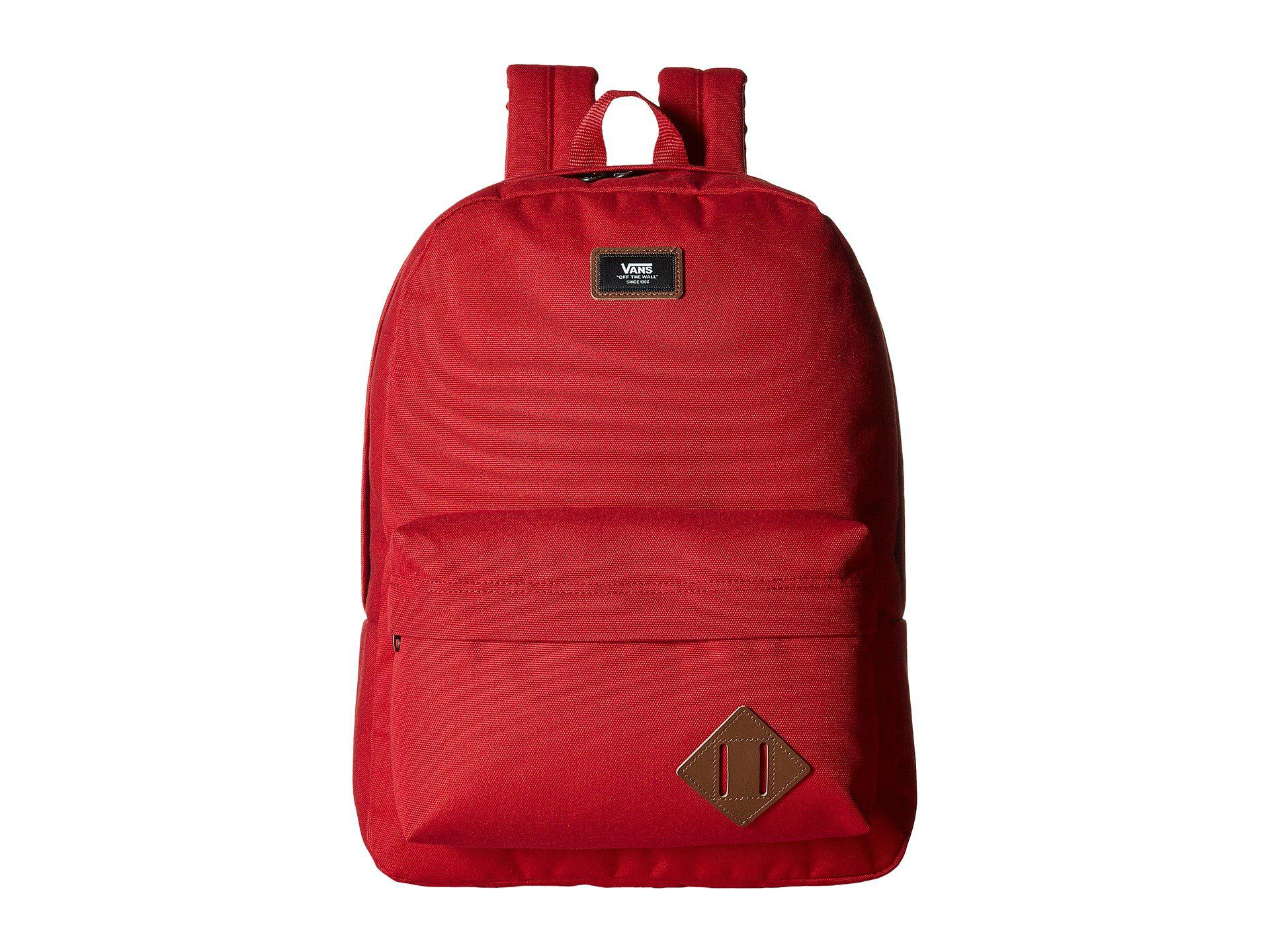 9ad1124ac0571d Lyst - Vans Old Skool Ii Backpack in Red for Men