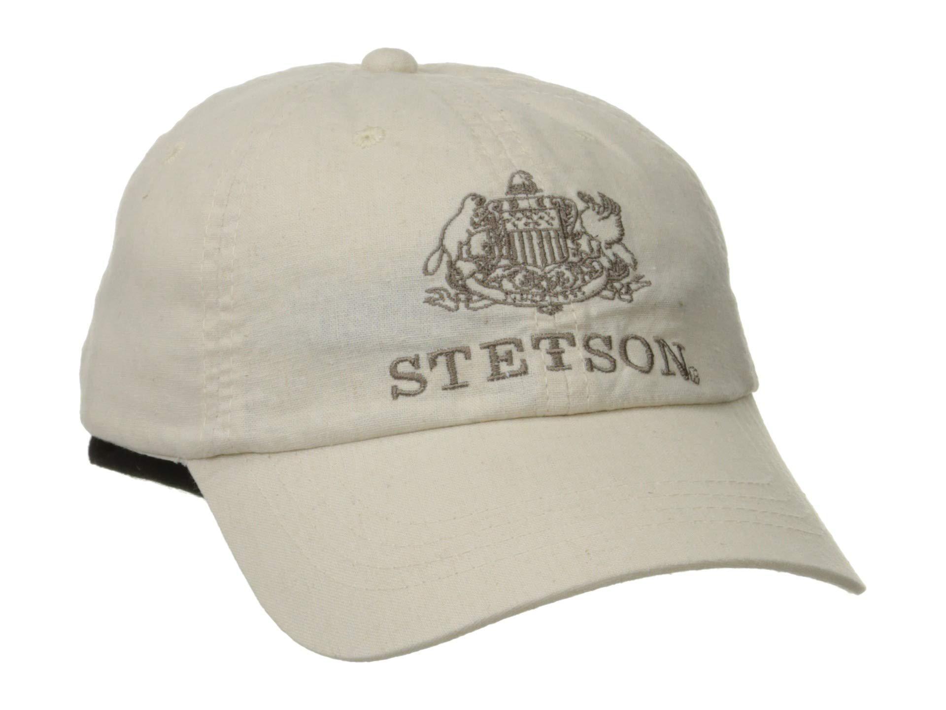 Green//Beige Mix Stetson Hats Hatteras Wool Bakerboy Cap