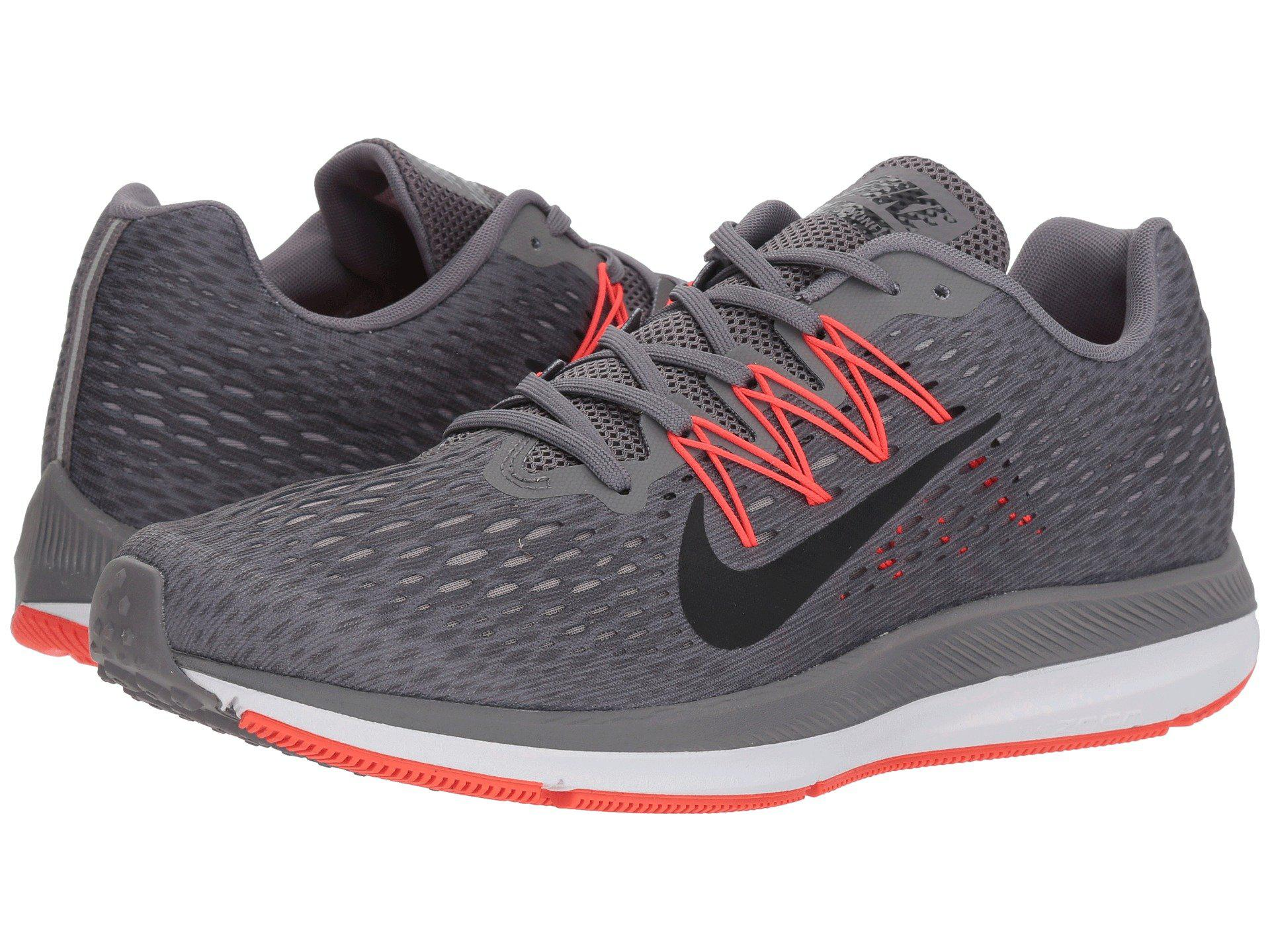 check out d4b5a 298a5 Men's Gray Zoom Winflo 2 Running Shoes