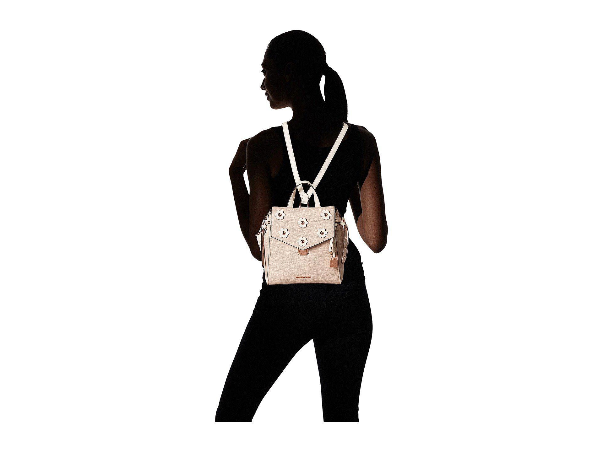 3c3038d57dd34c MICHAEL Michael Kors Bristol Small Backpack (soft Pink/light Cream ...