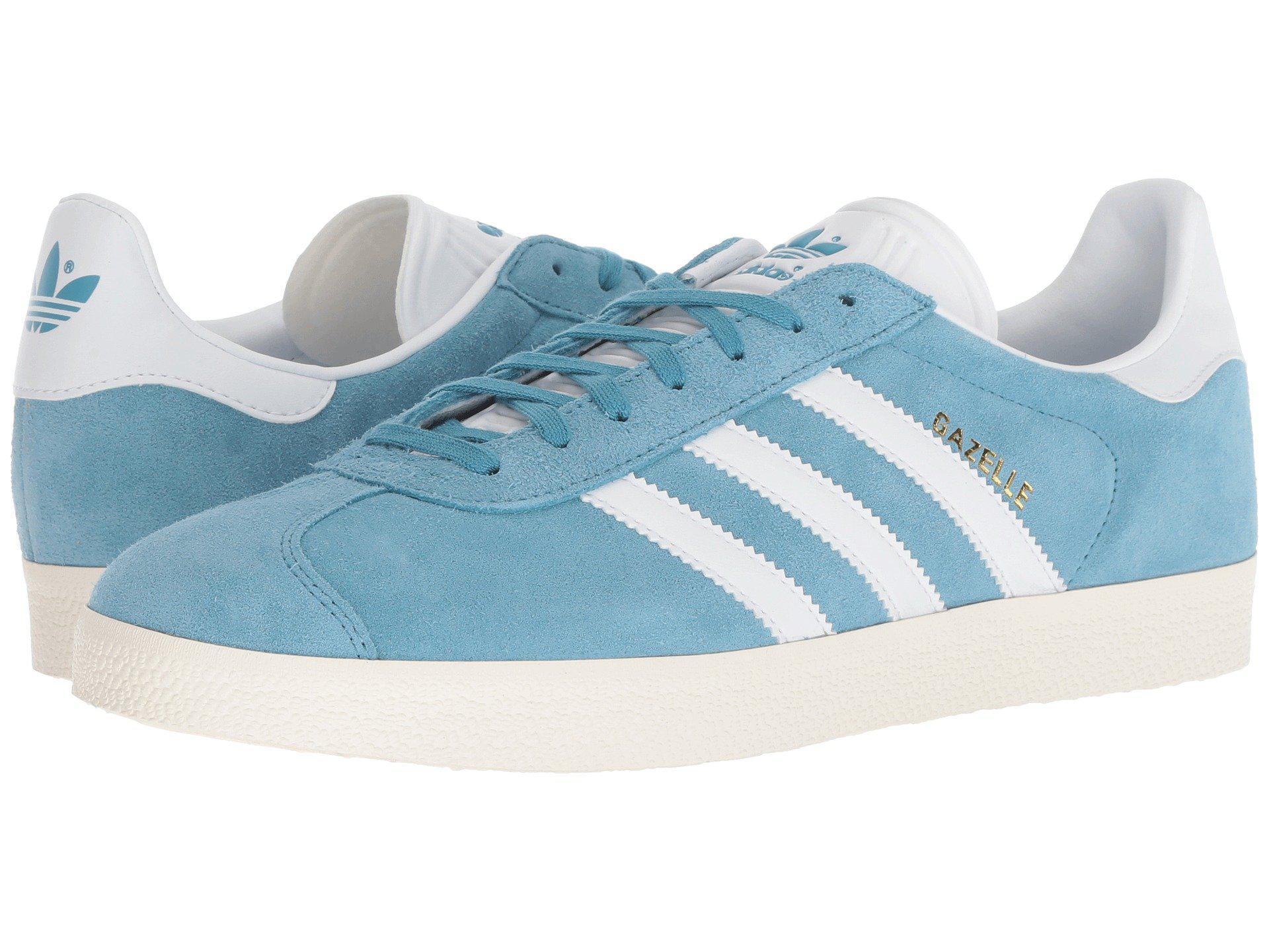 Originals Gazelle (sky Blue Suede) Men's Shoes