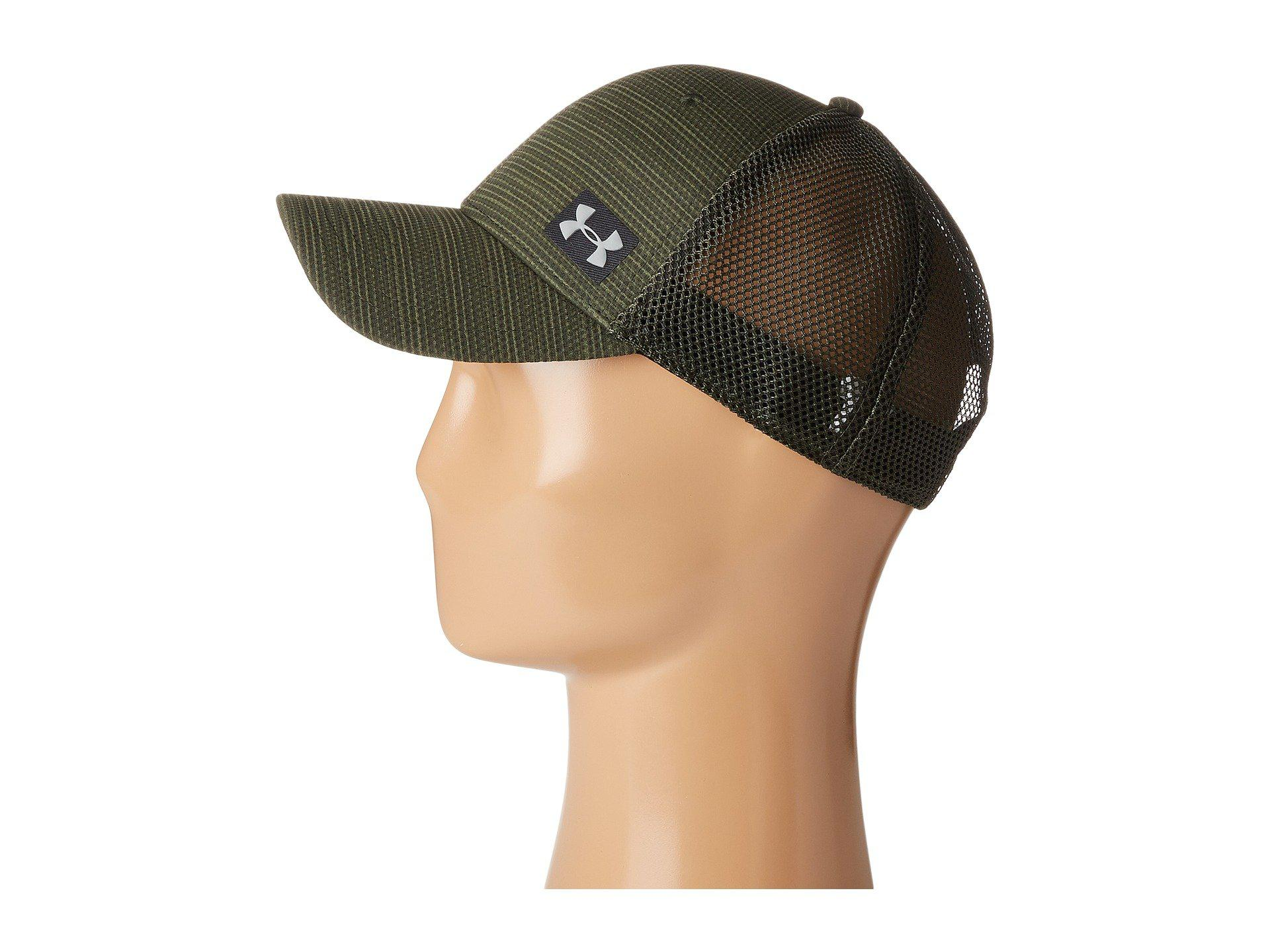 Lyst - Under Armour Ua Blitz Trucker Cap in Green for Men 00bf4abbdb9