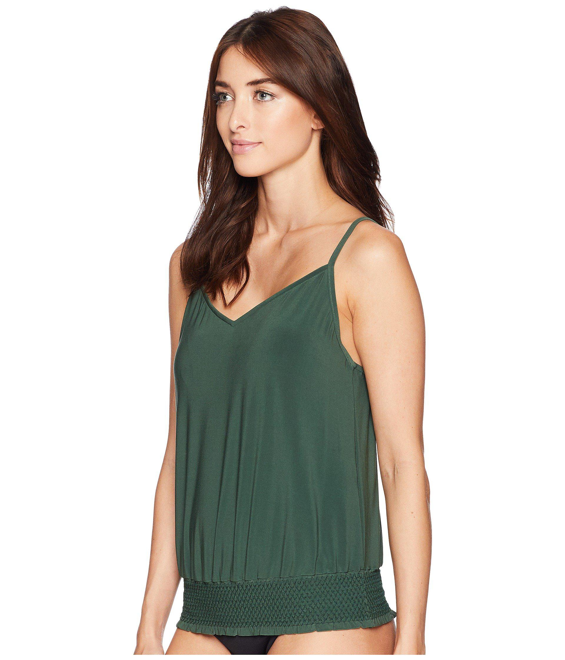 534ebefd45 Lyst - Magicsuit Justina Top (moss) Women s Swimwear in Green - Save 55%