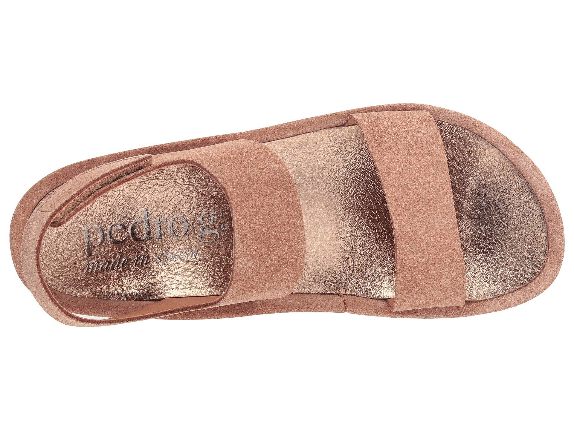 46728e33724 Lyst - Pedro Garcia Lacey 050 (macaron Castoro) Women s Wedge Shoes