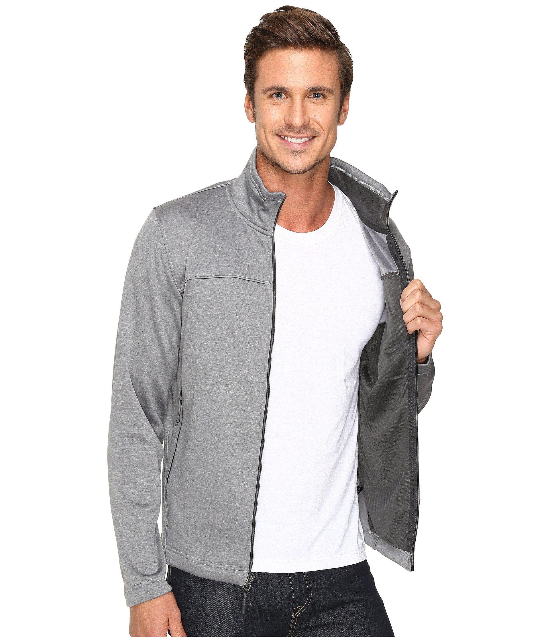 f4cbc32200790 The North Face Gray Schenley Full Zip for men