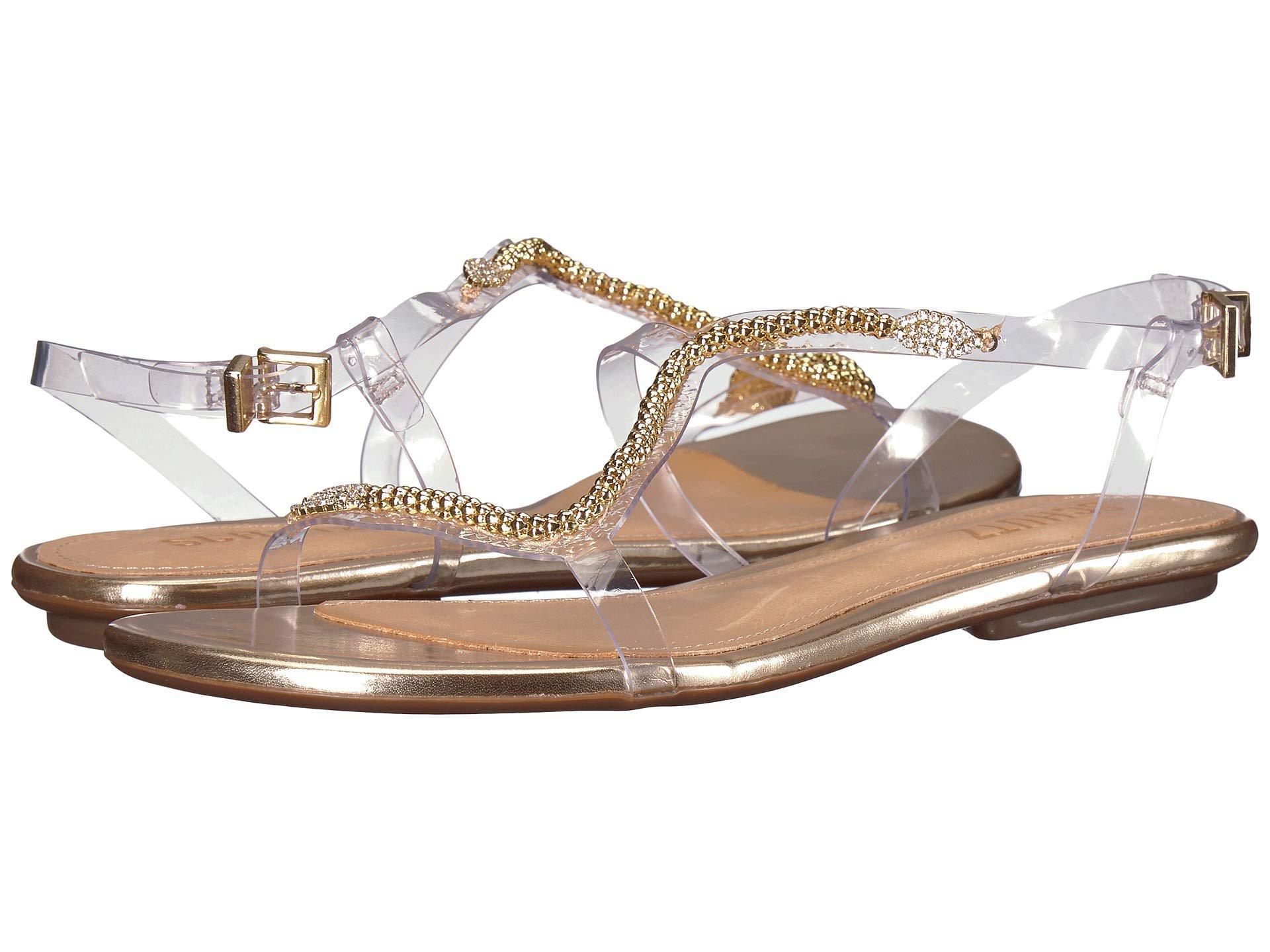 d14229e22 Lyst - Schutz Gabbyl (platina) Women s Shoes