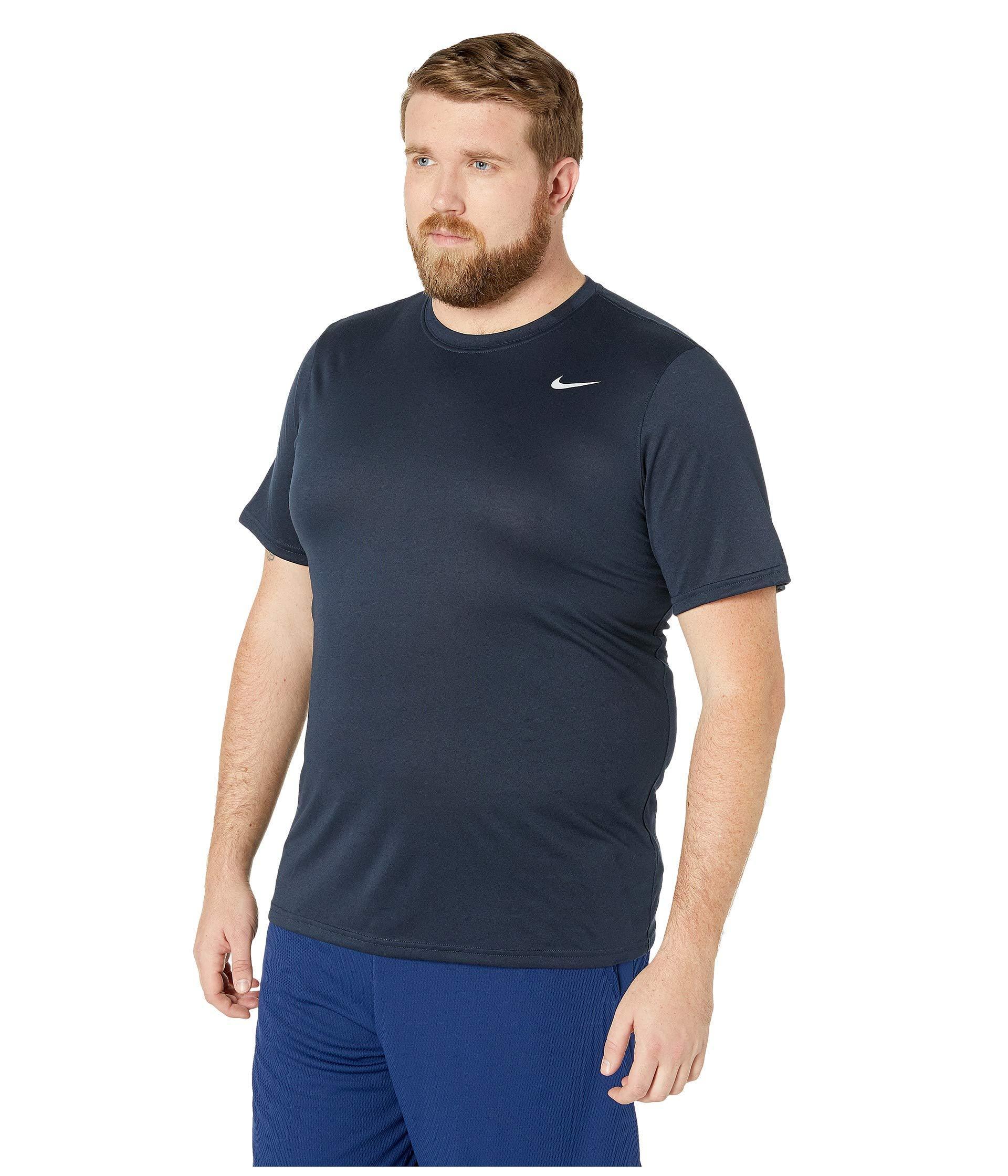 c0165685 Lyst - Nike Big Tall Legend 2.0 Short Sleeve Tee (carbon  Heather/black/black) Men's T Shirt in Black for Men