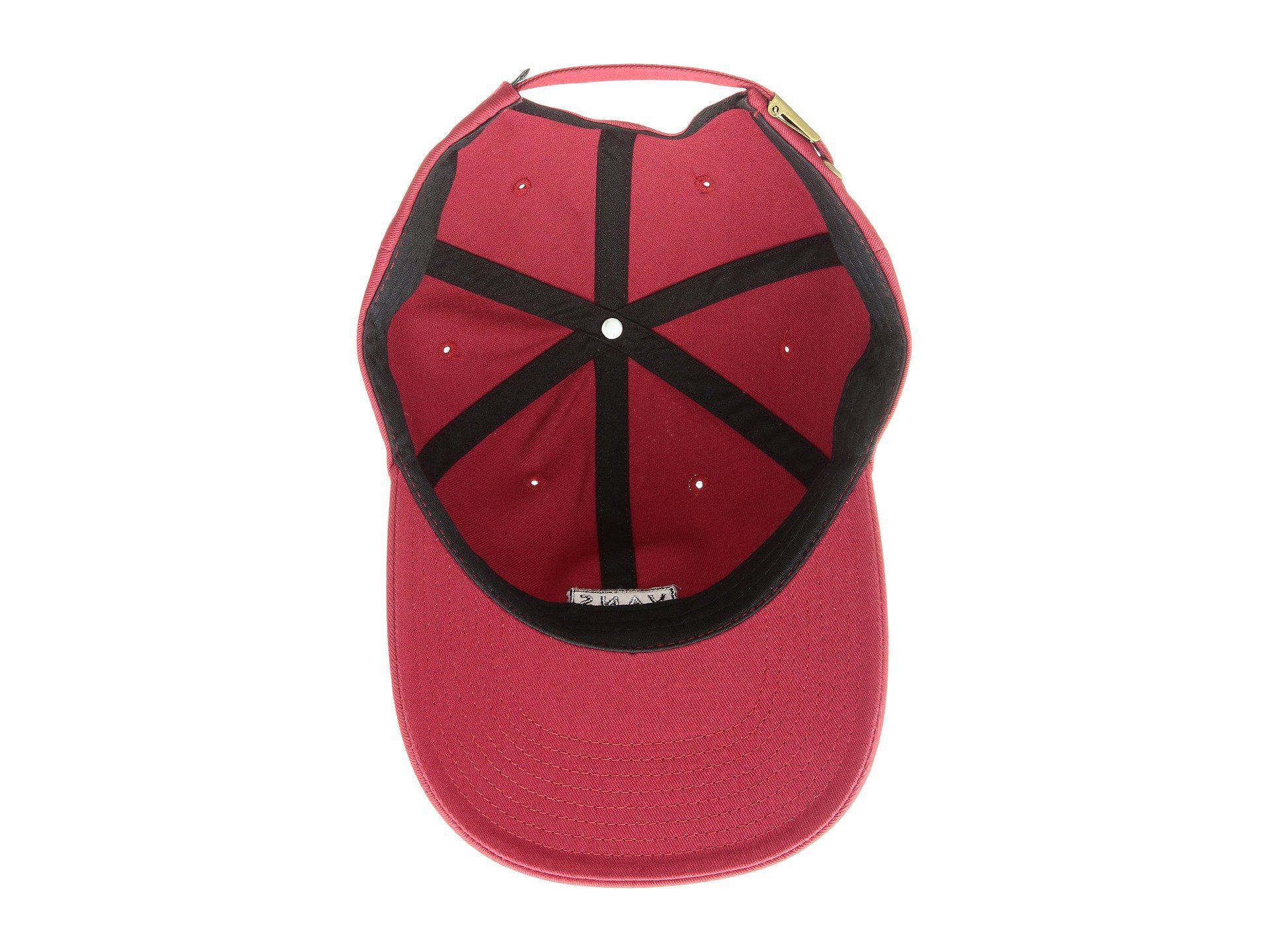 ea28953aaf7 Lyst - Vans Curved Bill Jockey Hat (darkest Spruce) Caps in Red for Men