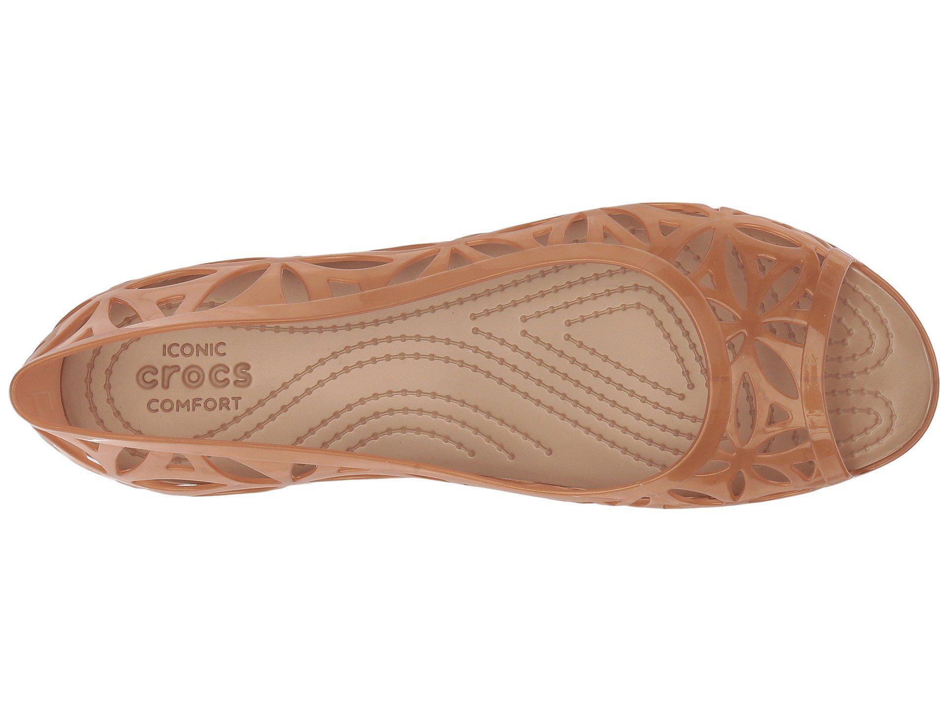 85c522b88f641a Crocs™ - Multicolor Isabella Jelly Ii Flat (black black) Women s Flat Shoes.  View fullscreen