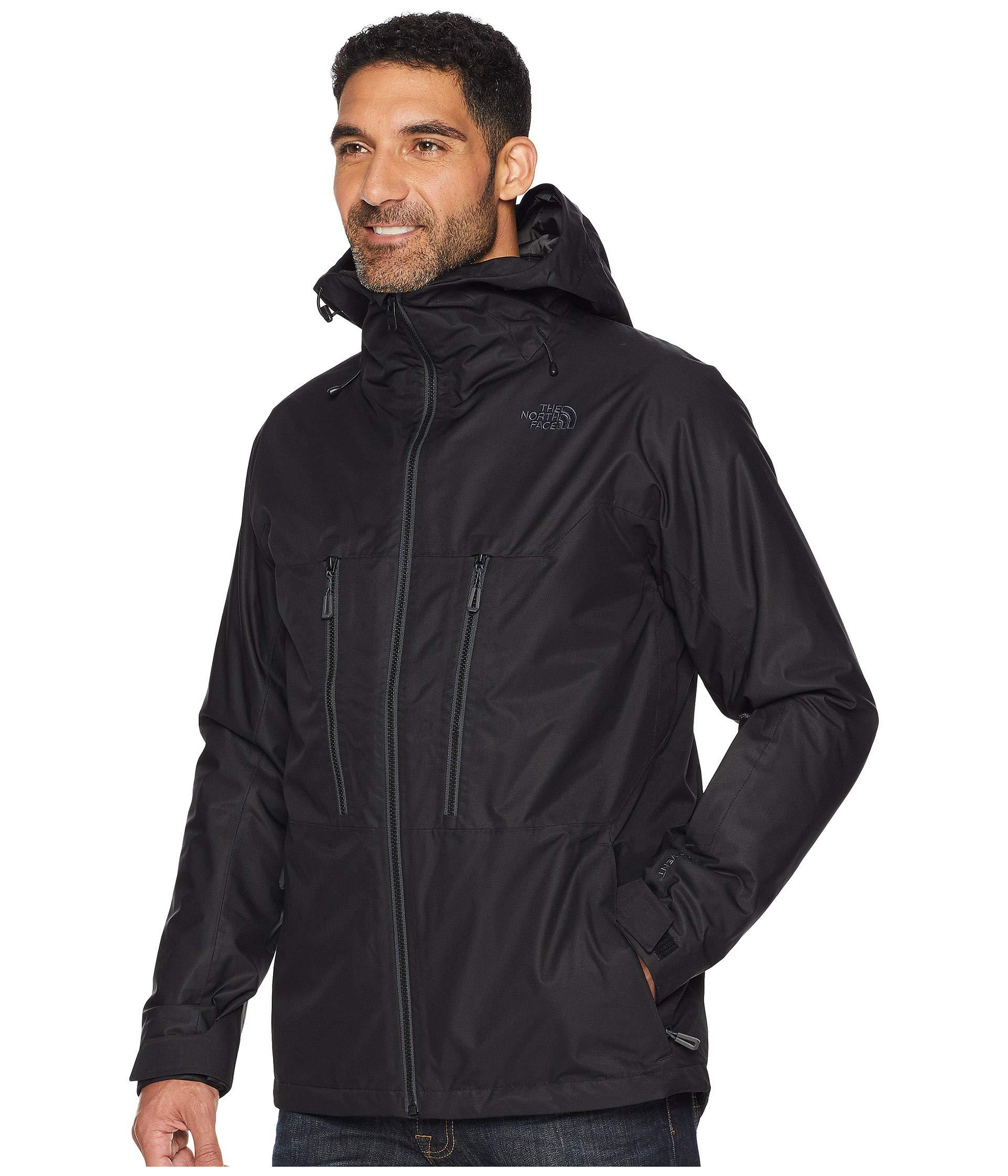 2d8cd10547 Lyst - The North Face Thermoballtm Snow Triclimate(r) Jacket (leopard  Yellow) Men s Coat in Black for Men