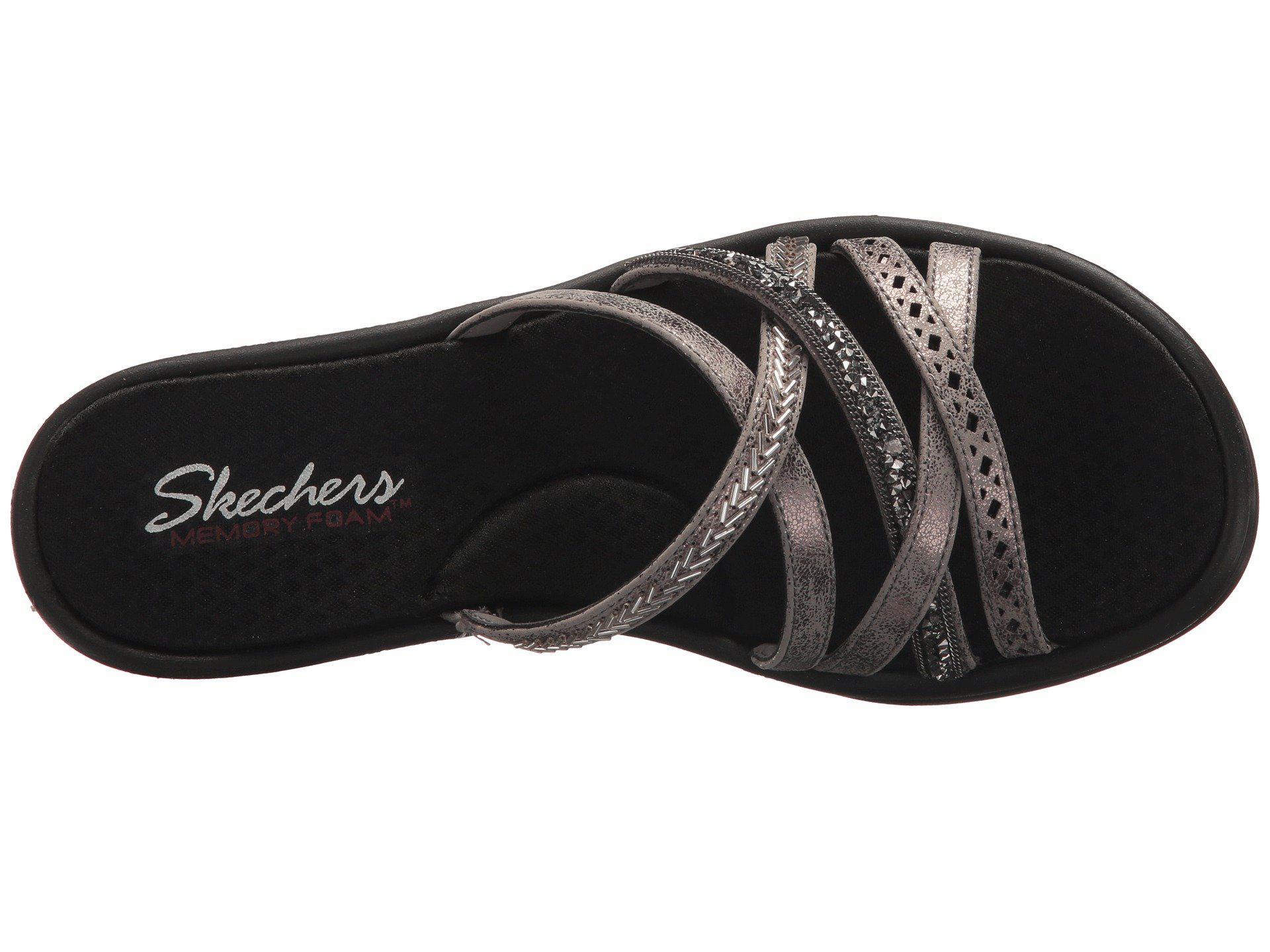 748ea03e Lyst - Skechers Rumbler Wave - New Lassie (pewter) Women's Shoes in ...