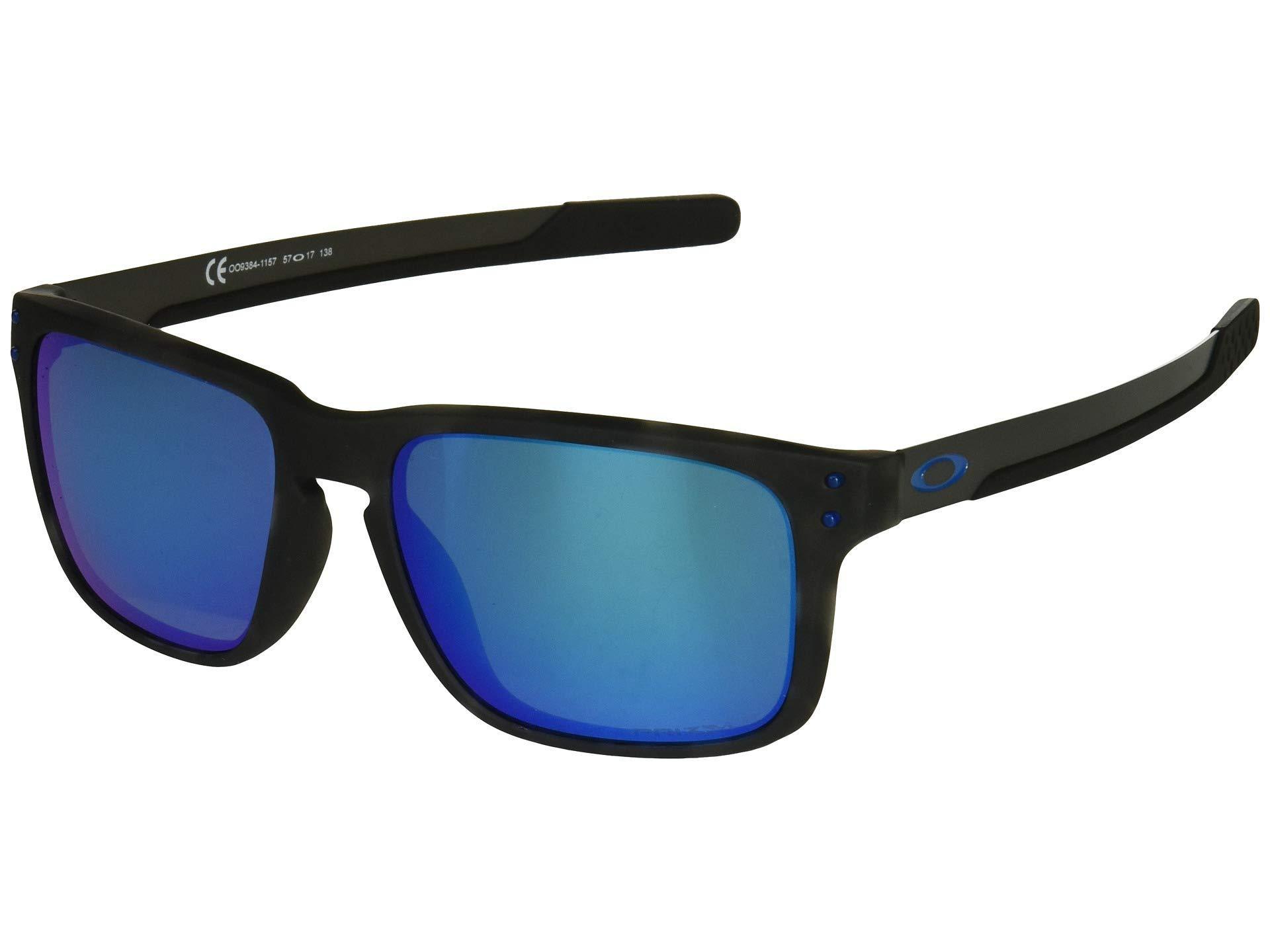 8e3347c1e8a3e Oakley. Men s Holbrook Mix (matte Black Tortoise prizm Sapphire Polarized)  Sport Sunglasses