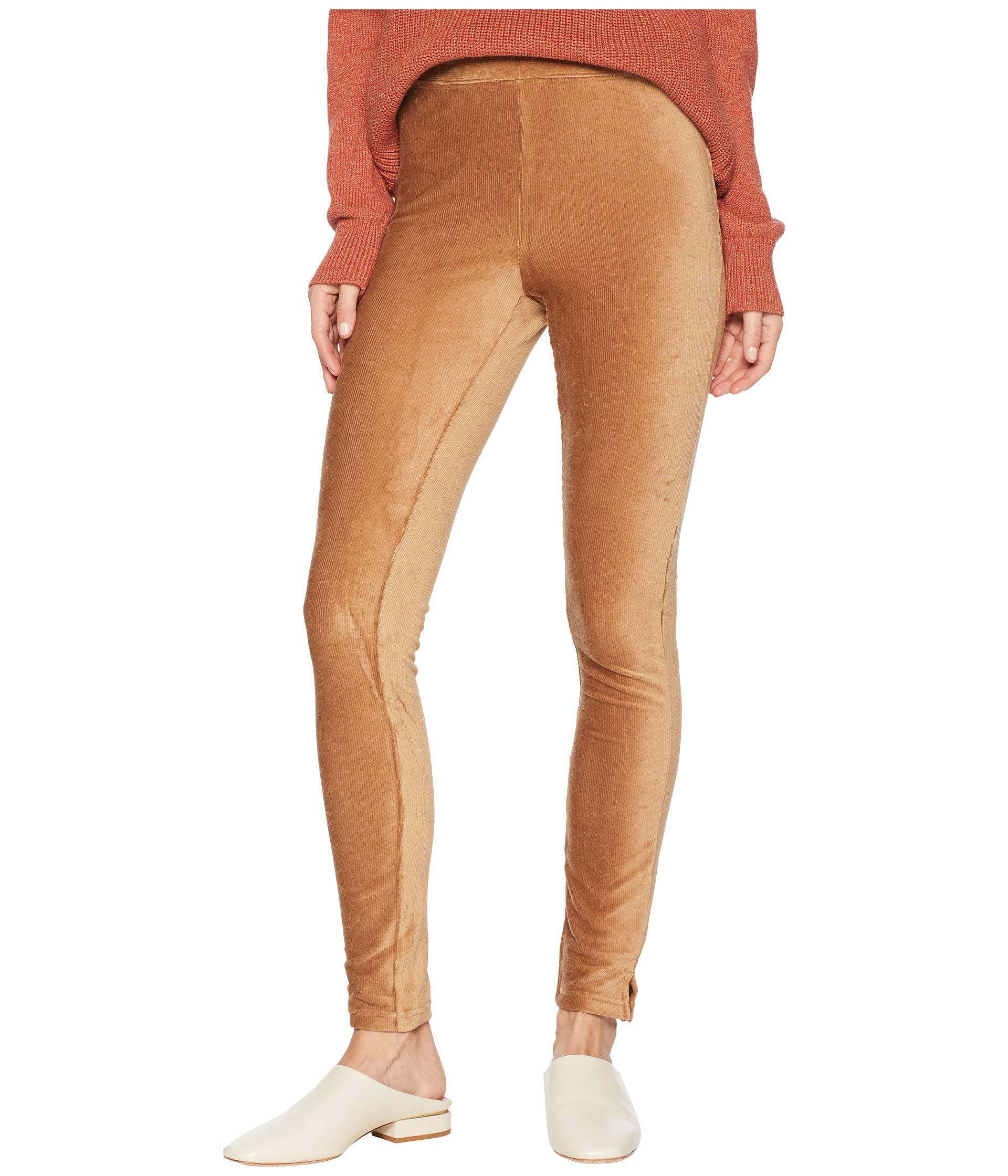 07fb0574d51108 Lyst - Hue Plus Size High-waist Corduroy Leggings (caramel) Women's ...