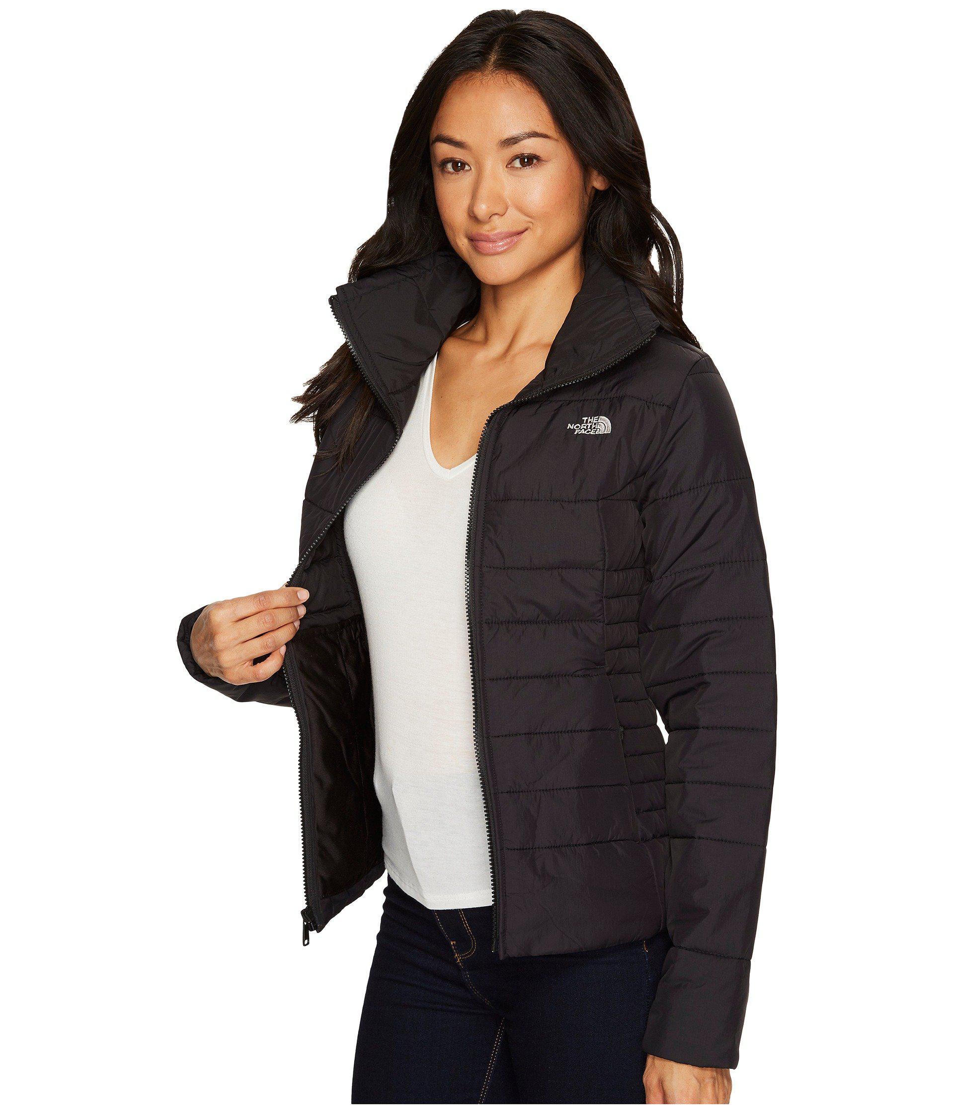 699de9064 The North Face Black Harway Jacket (tnf Medium Grey Heather) Women's Coat